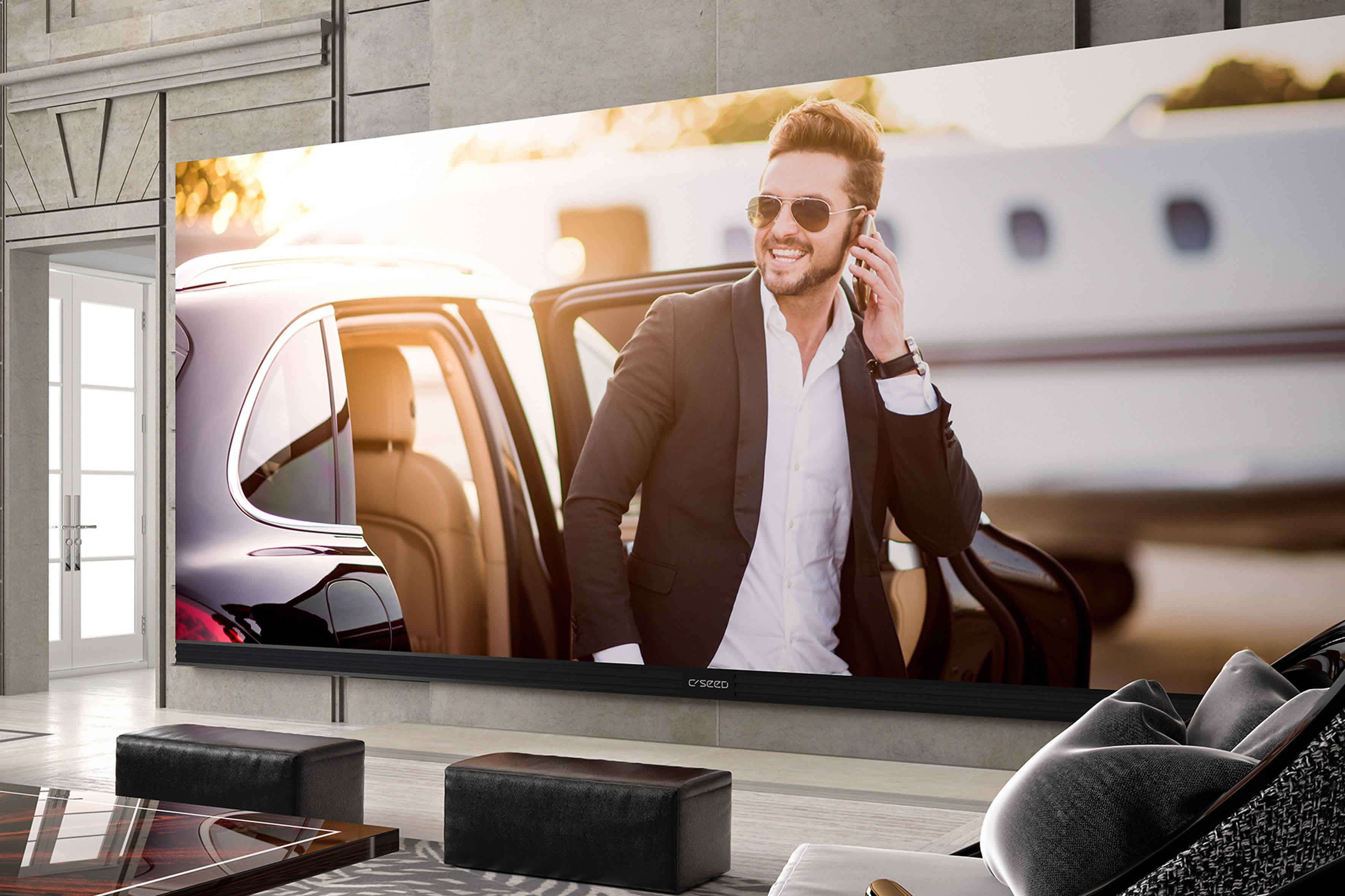 The biggest 4K TV you can buy makes your 100-inch TV look like a baby monitor