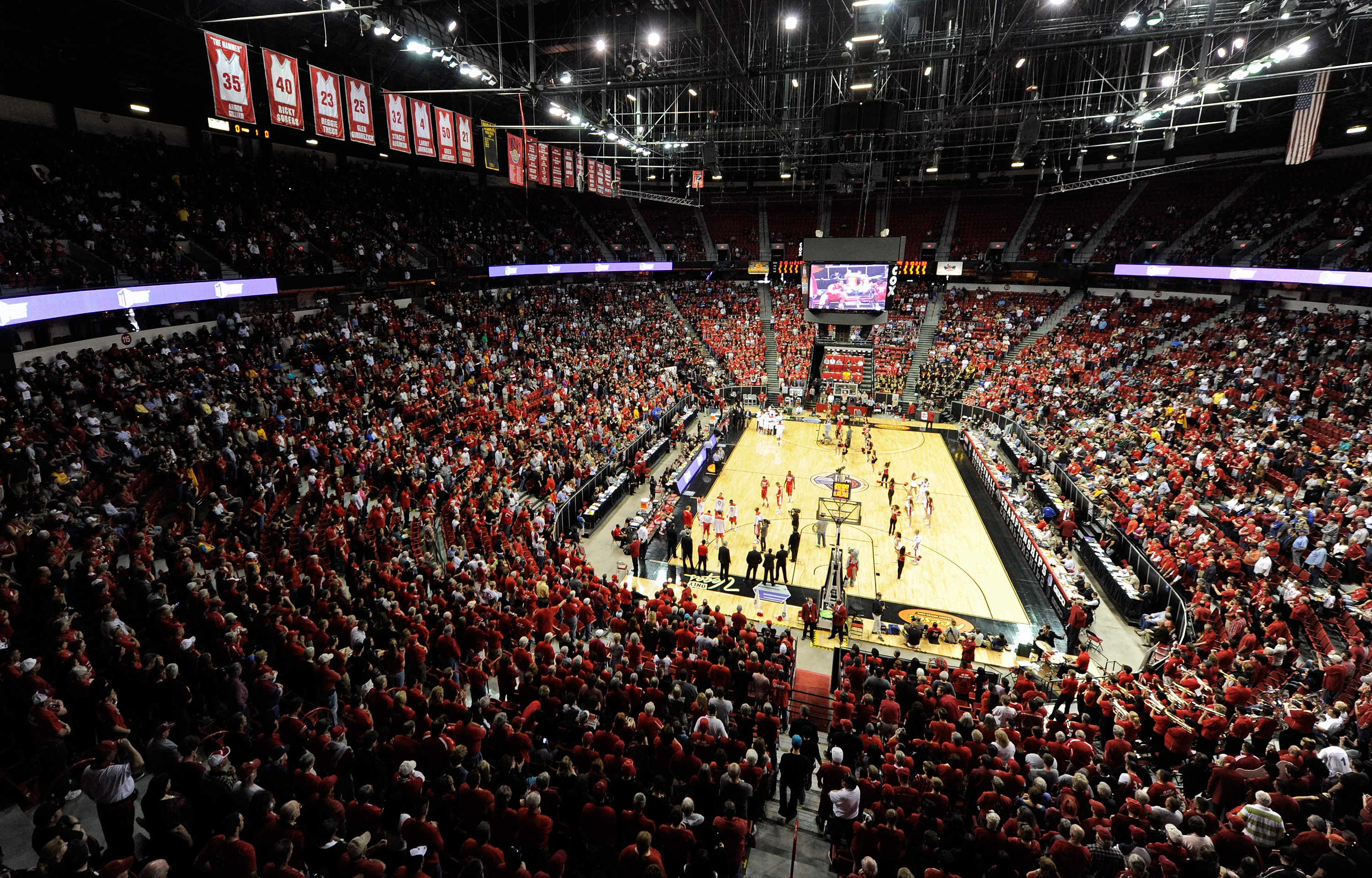 Mountain West Basketball Tournament - Championship New Mexico v San Diego State