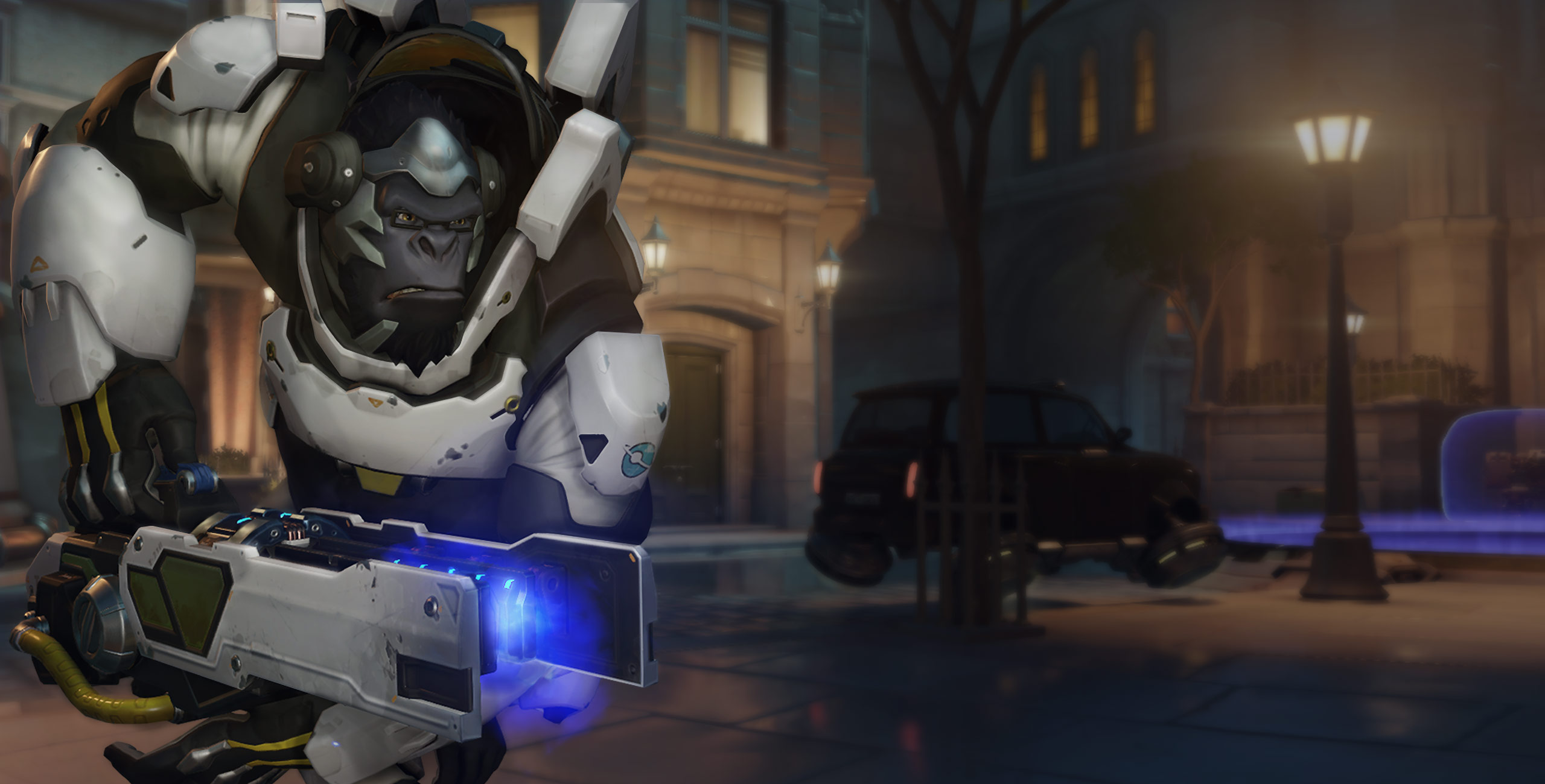 Winston grew up on the new map, Horizon Lunar Colony.