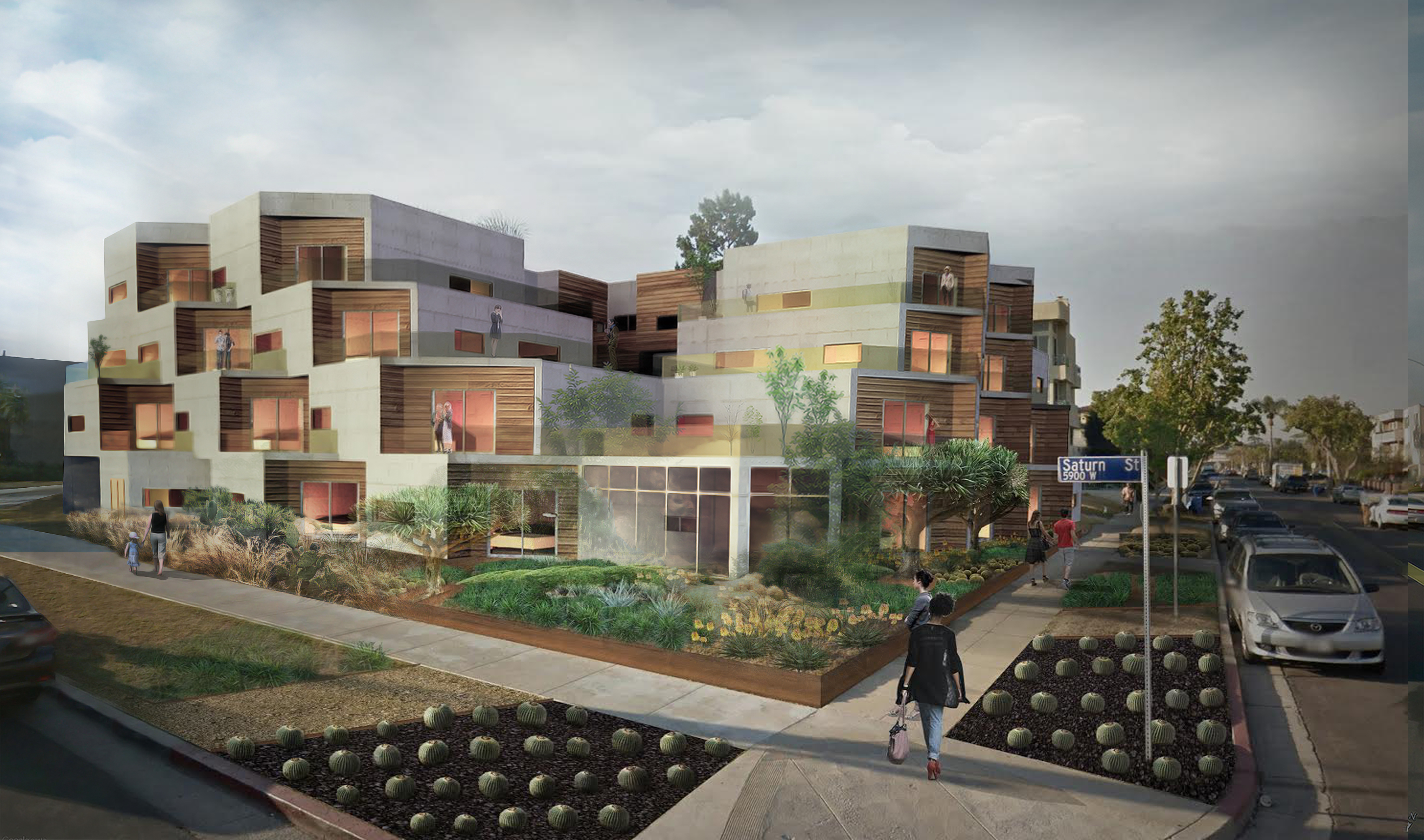 This new Mid-City apartment building will replace pink houses that neighbors hate