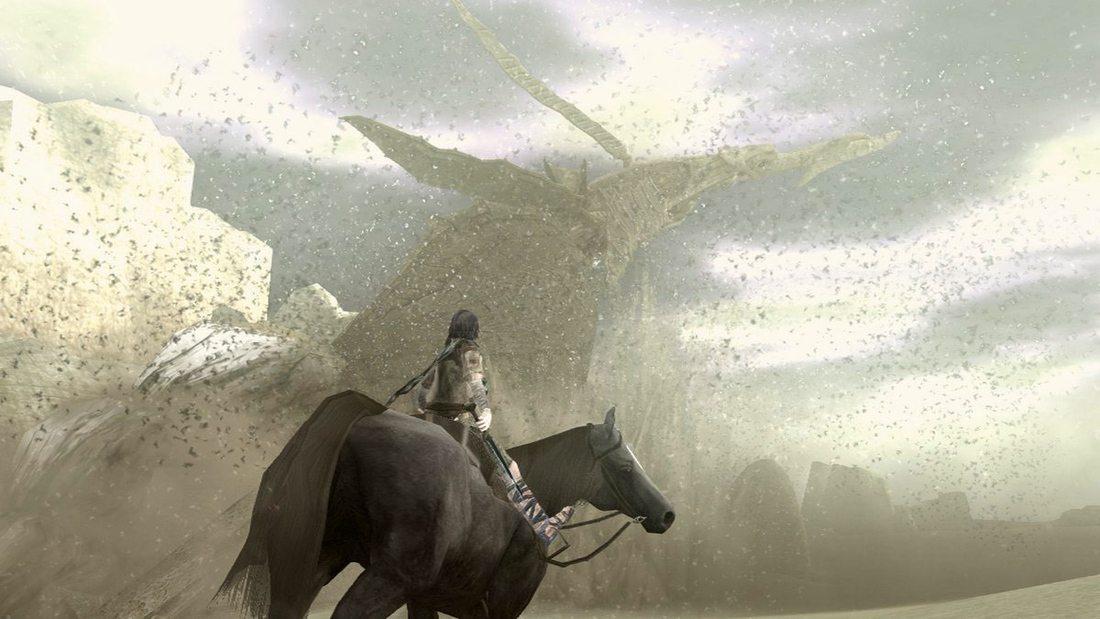 Shadow of the Colossus on PS4 is a complete remake, with optional new controls