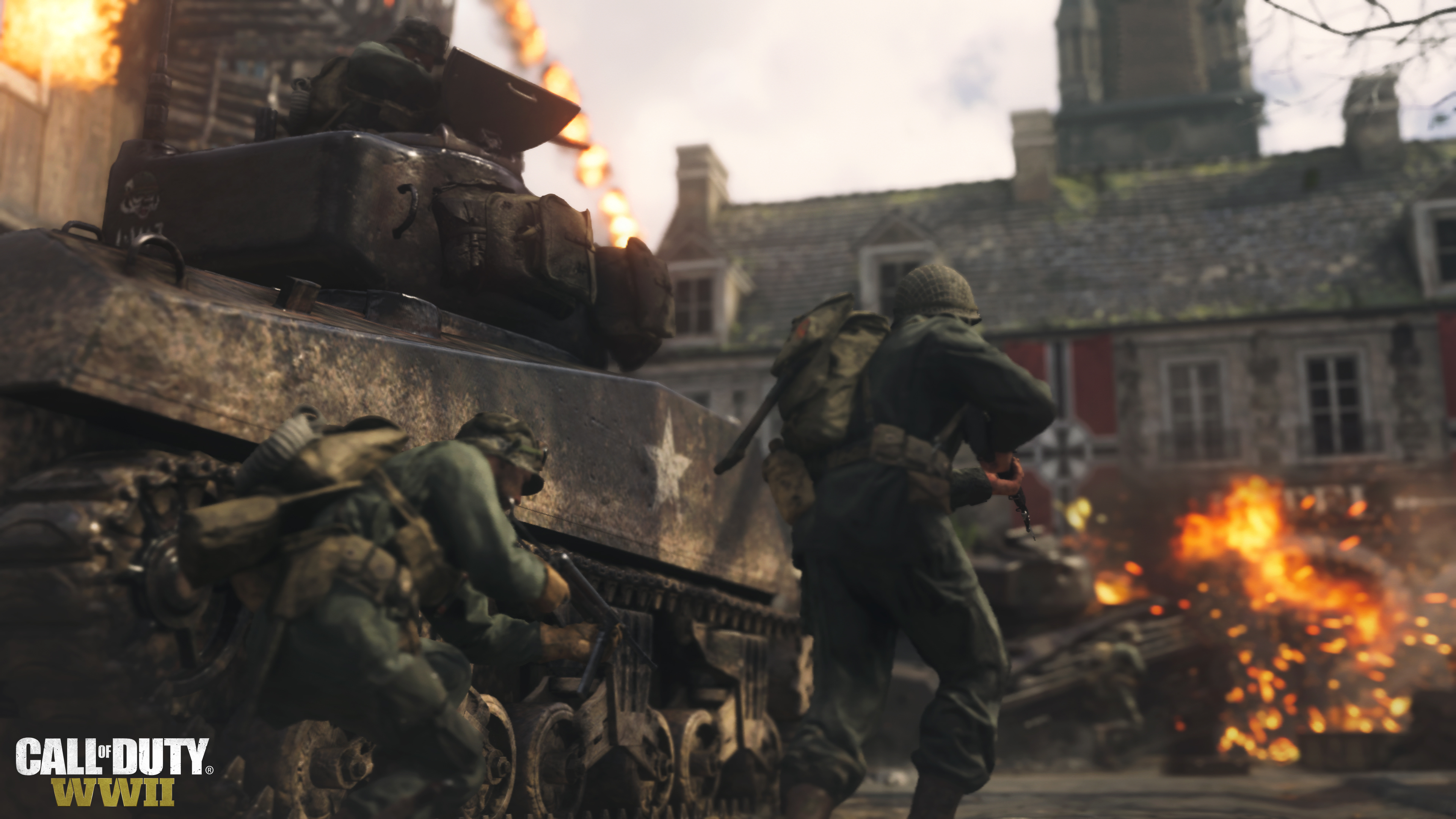Call of Duty: World War II multiplayer lets you fight as anyone, history be damned