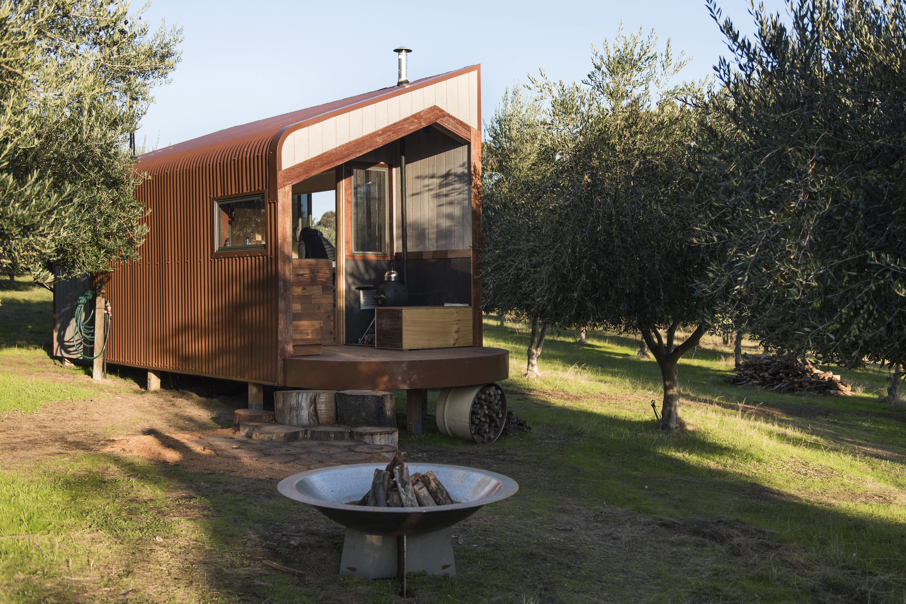 tiny house in olive grove