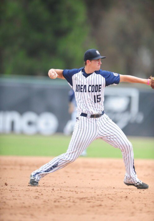 Nick Egnatuk plays in the Area Code Games
