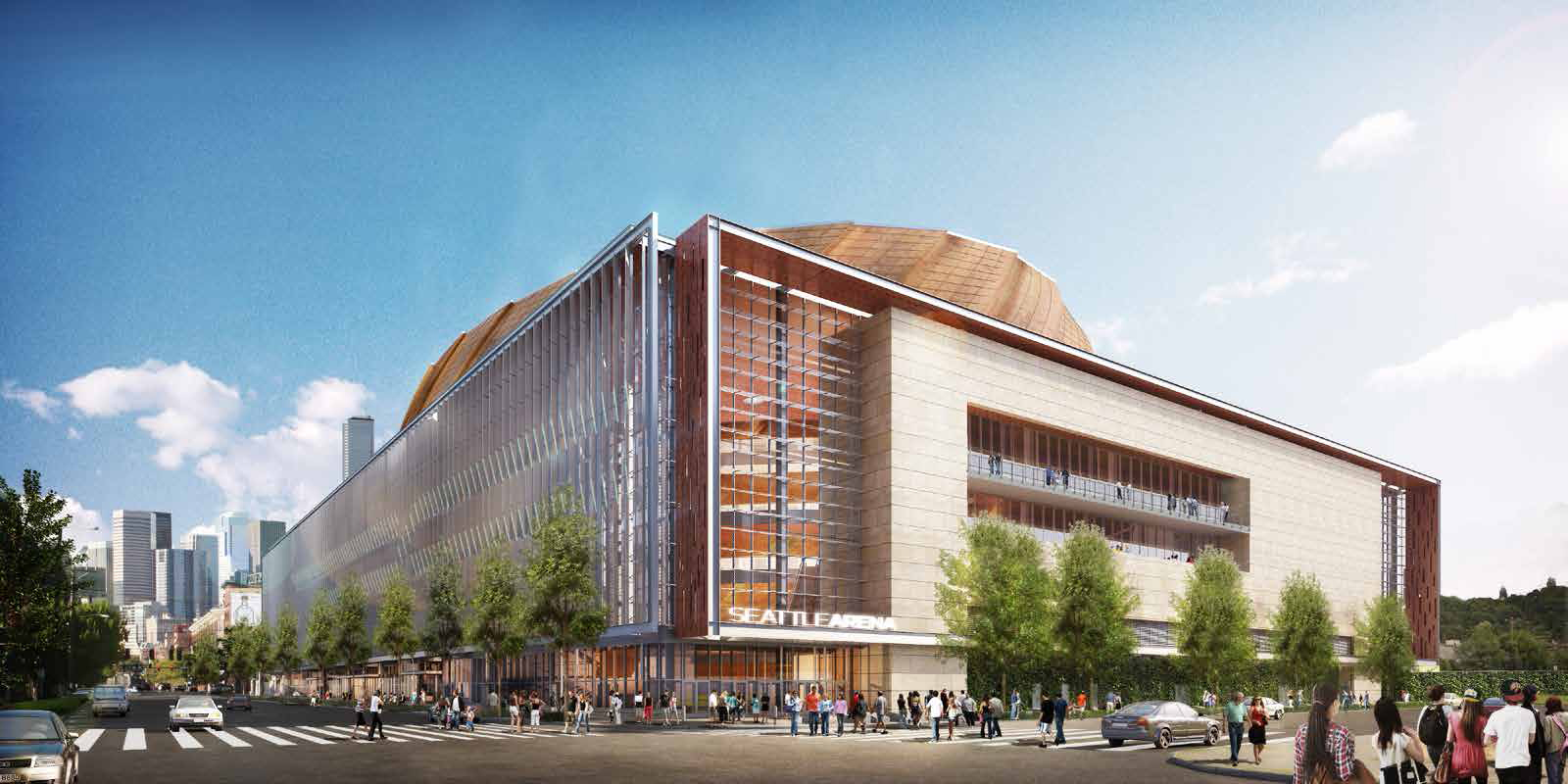 Seattle Arena - First & Holgate