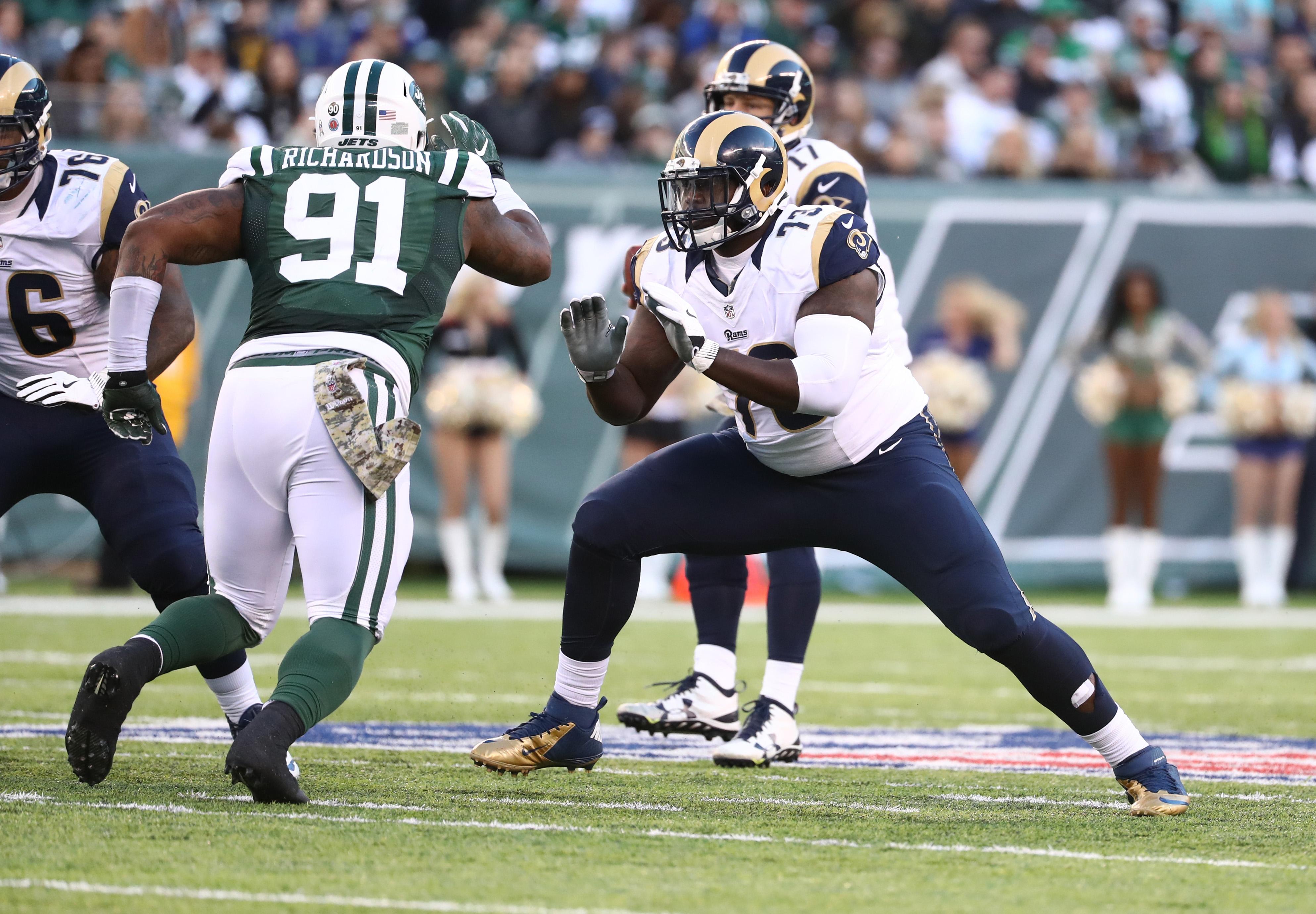 Los Angeles Rams OL Greg Robinson