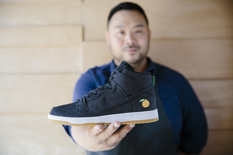David Chang and his Momofuku Nike