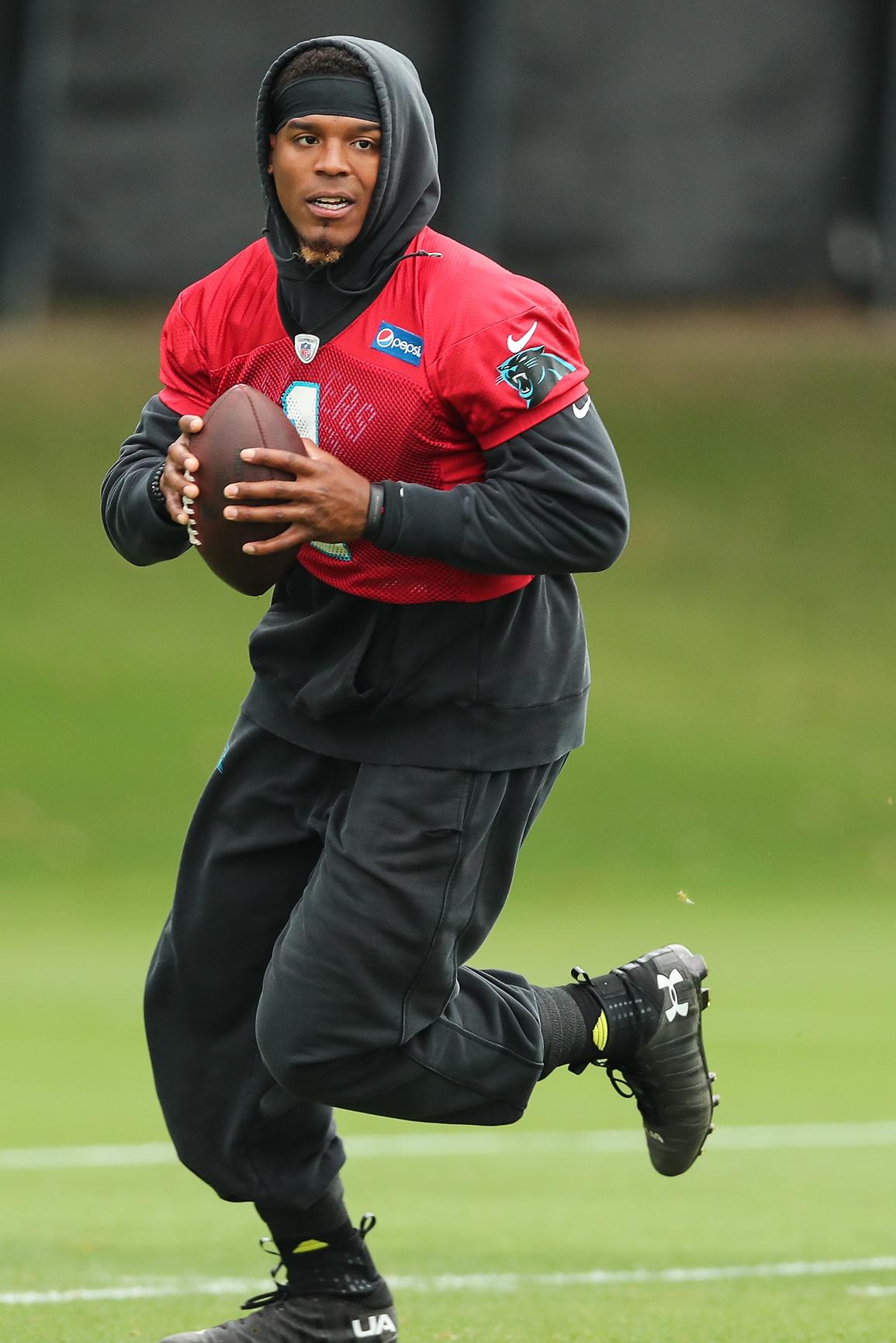 NFL: Carolina Panthers-Minicamp