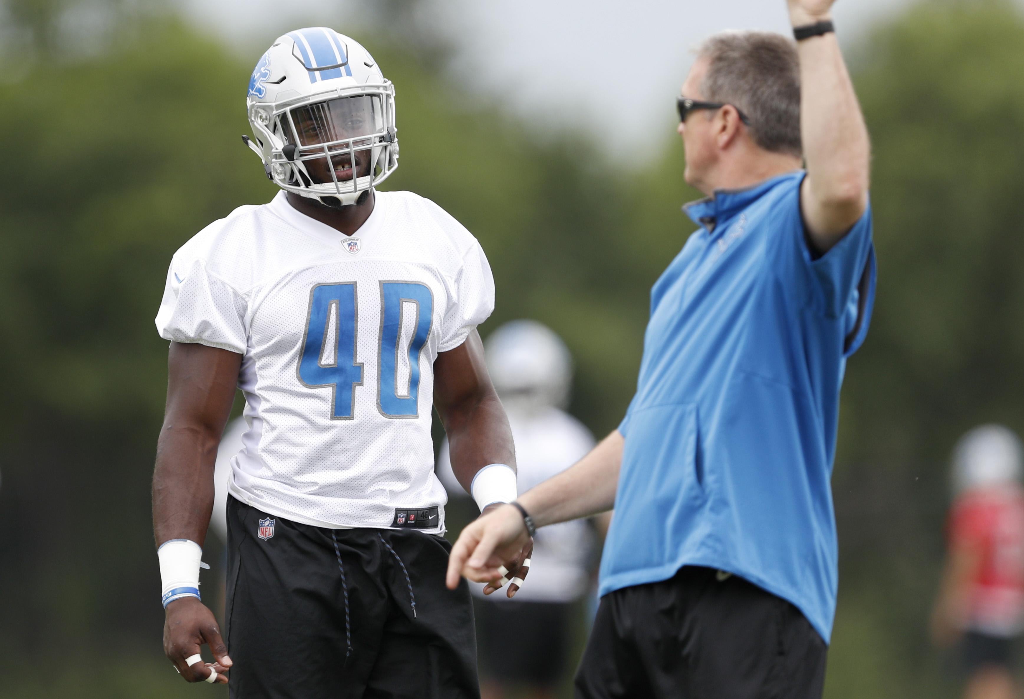 NFL: Detroit Lions-Minicamp