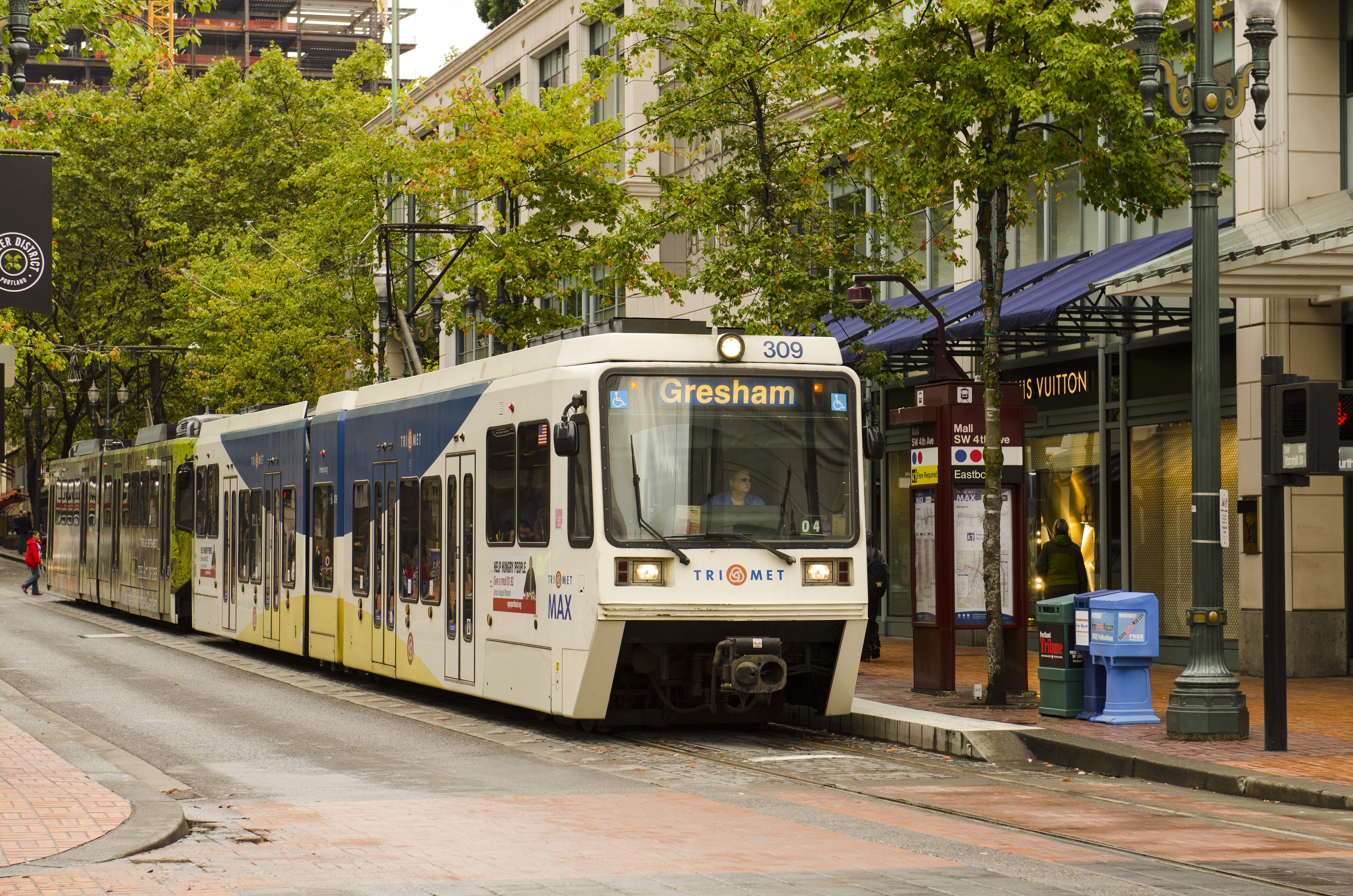 Portland MAX light rail