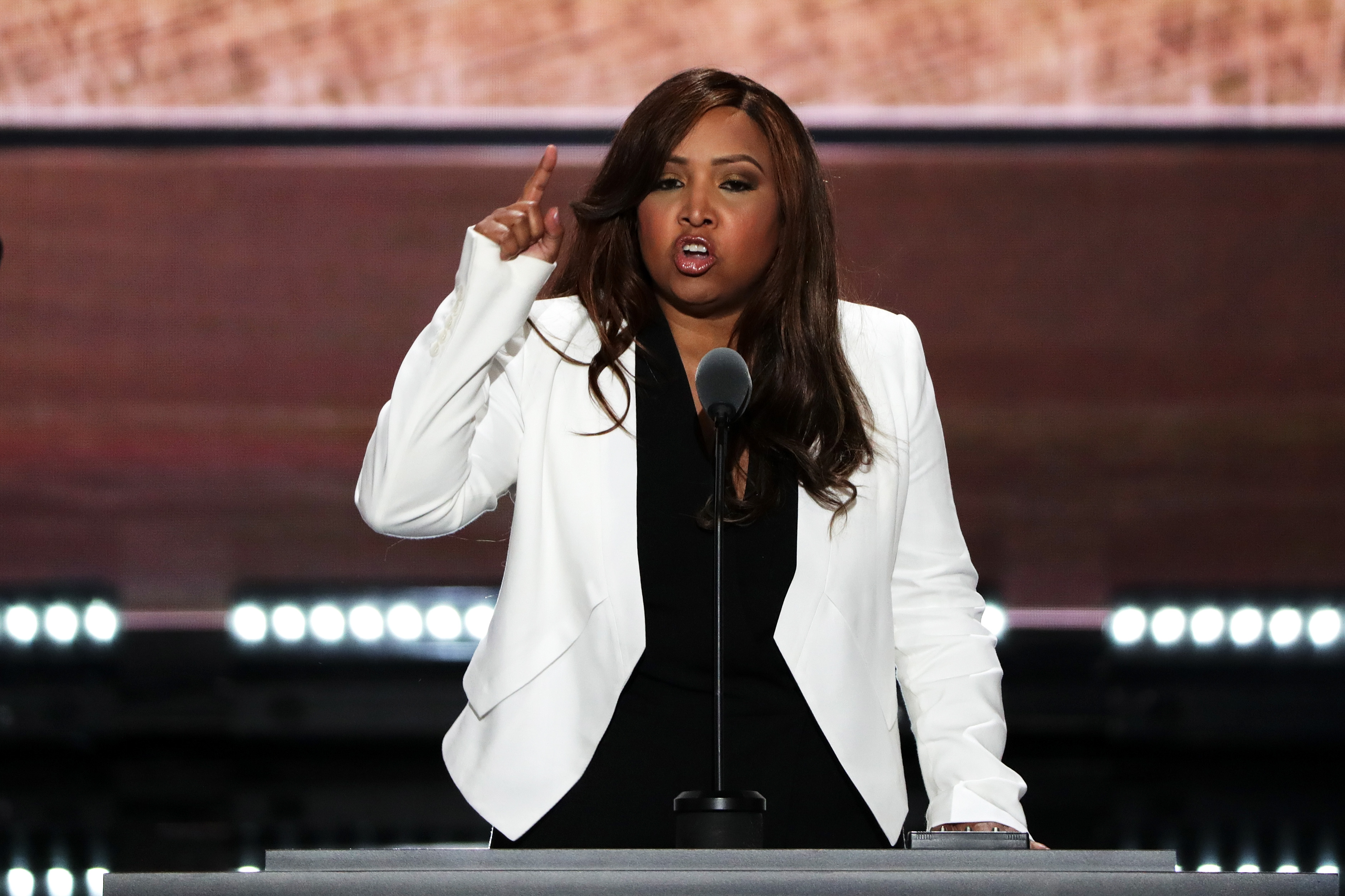 Lynne Patton at the 2016 Republican National Convention.
