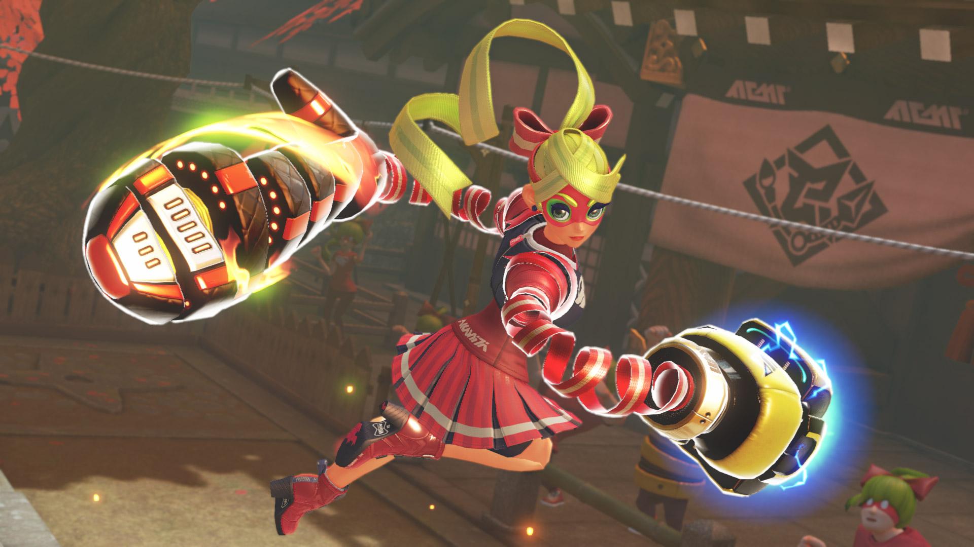 Arms - Ribbon Girl