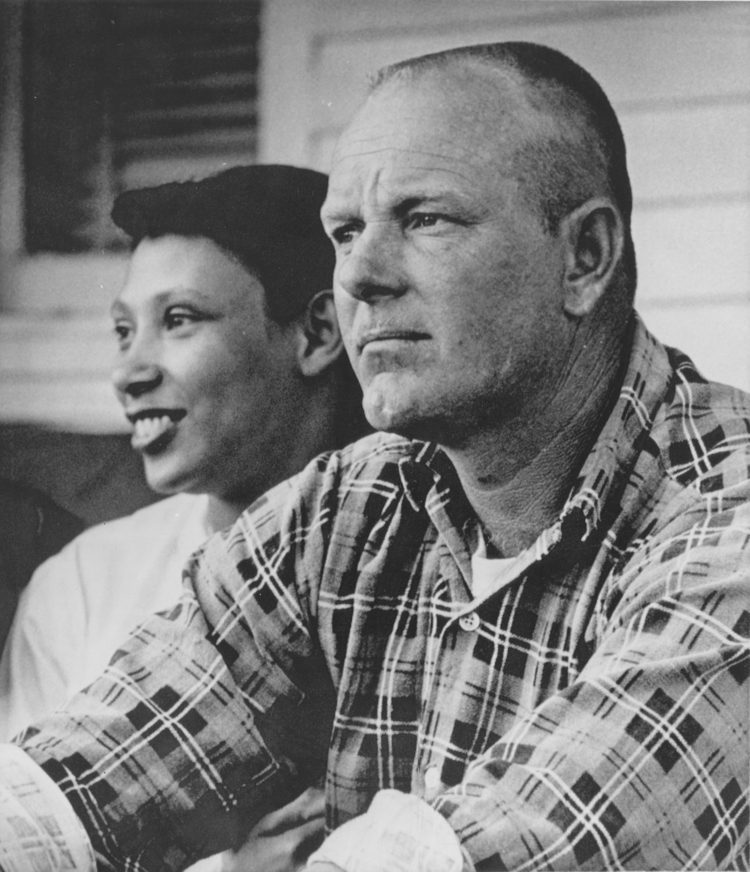 Richard and Mildred Loving, who were at the center of the case which struck down laws against interracial marriage in the US 50 years ago.