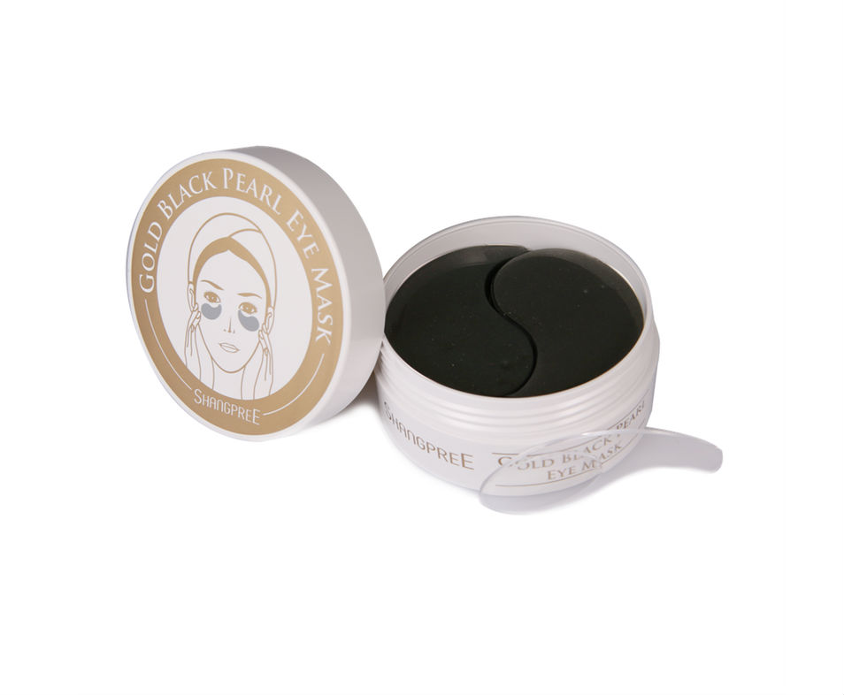 Shangpree Gold Black Pearl Hydrogel Eye Masks
