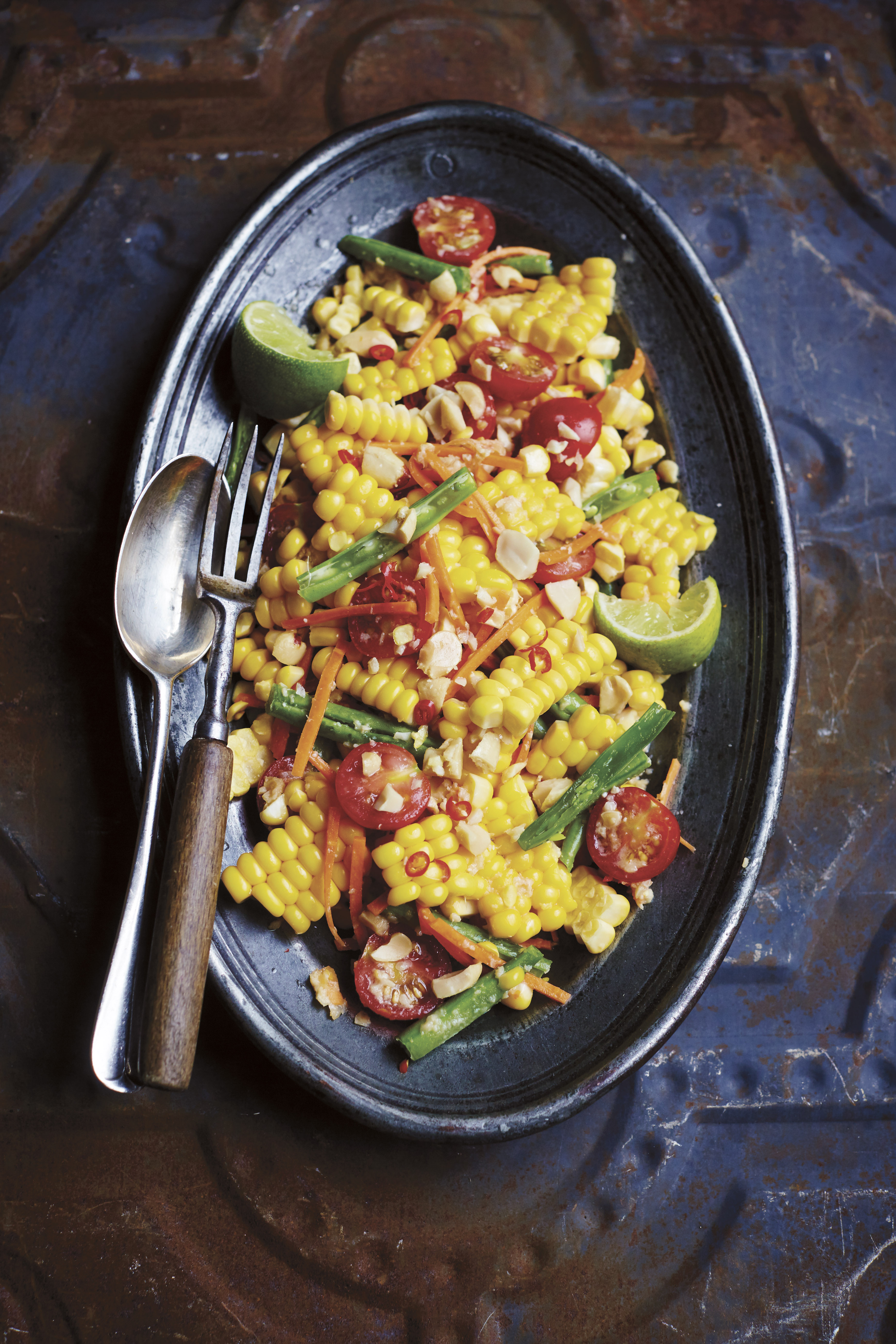 Recipe: A Sweet and Spicy Corn Salad