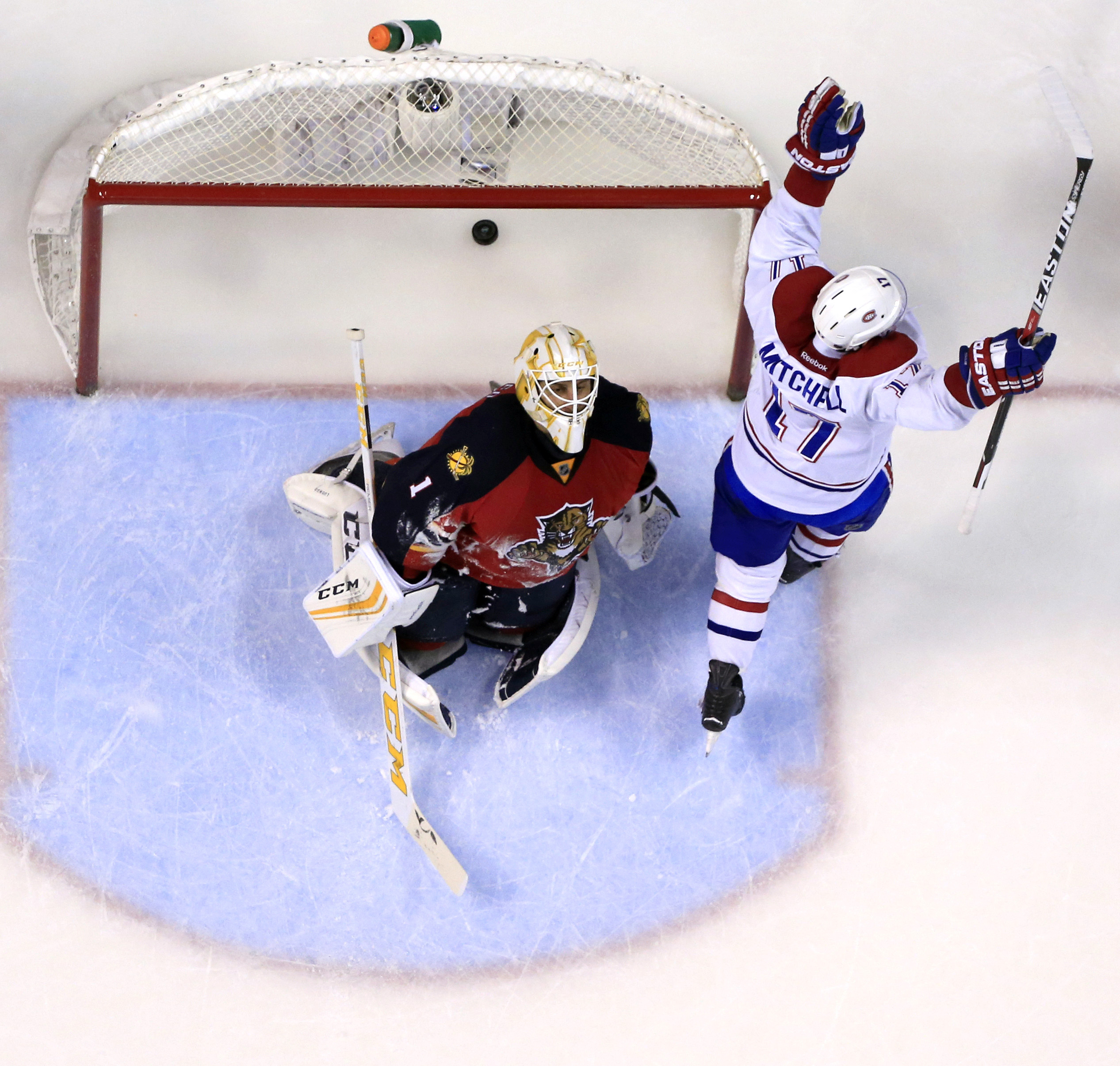NHL: Montreal Canadiens at Florida Panthers