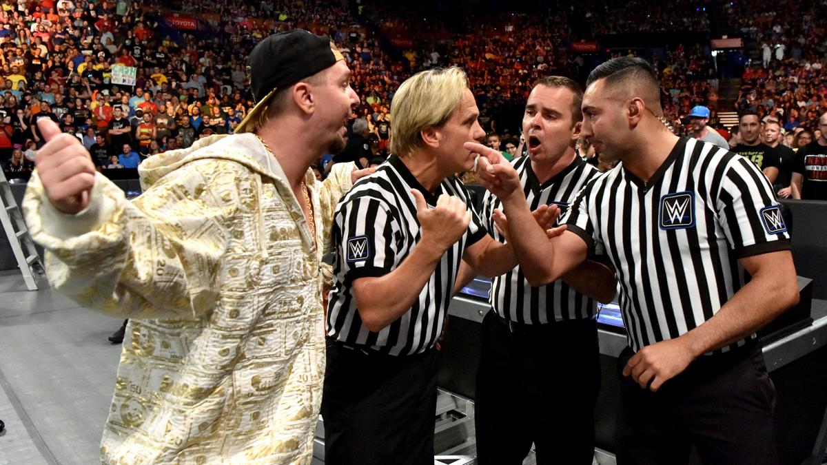 James Ellsworth wins WWE's Women's Money in the Bank ladder match