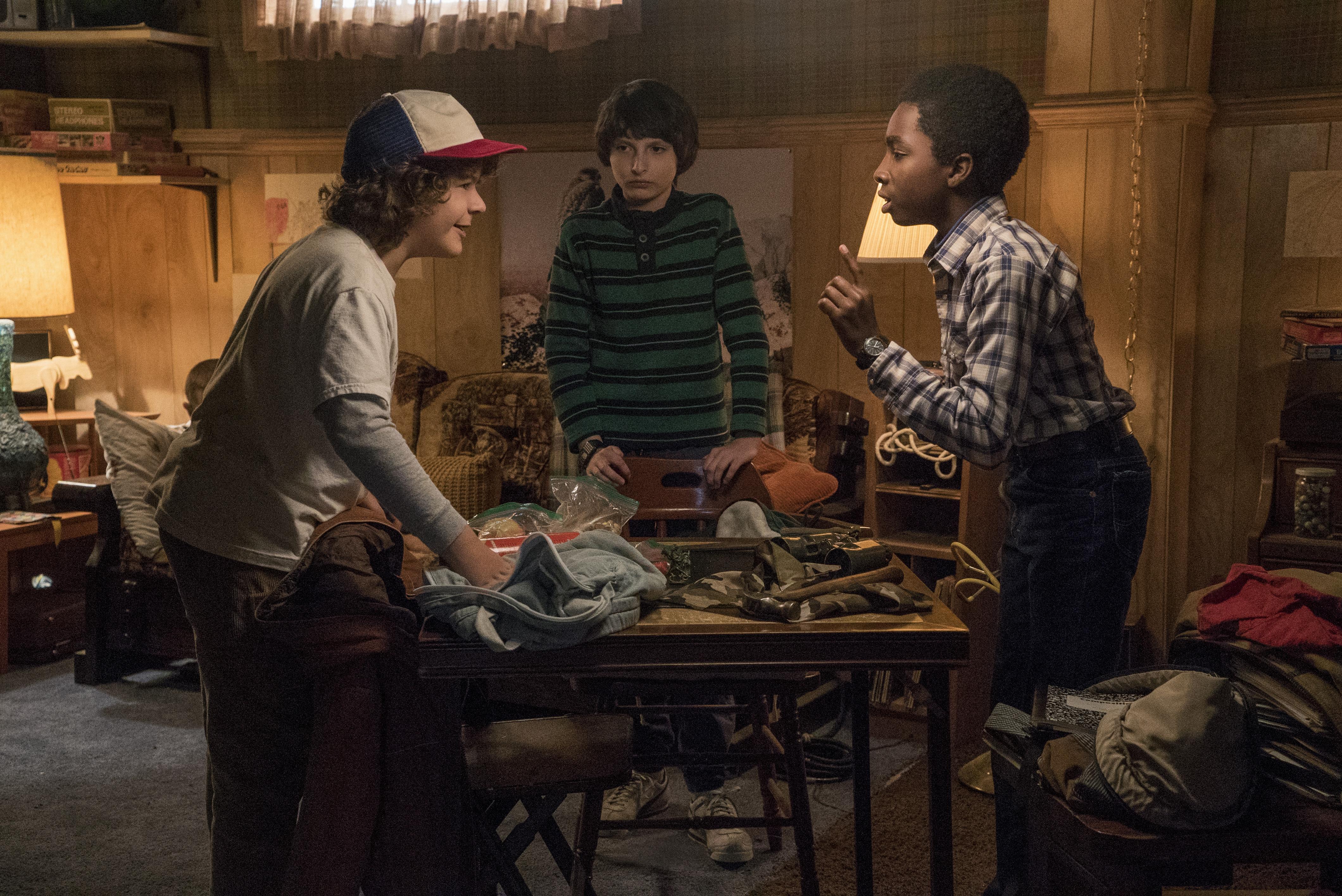 Stranger Things - Dustin, Mike, Lucas