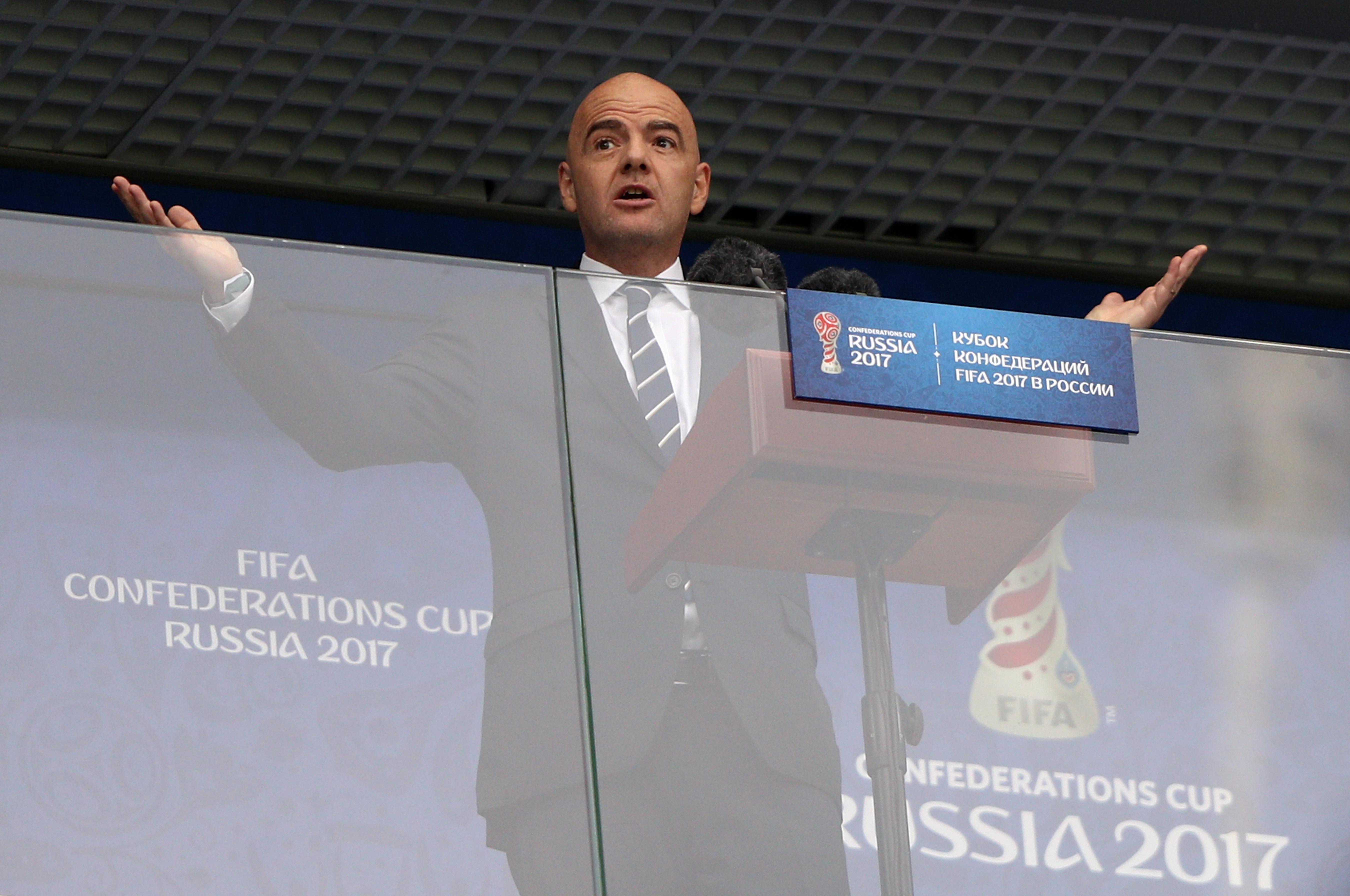Russia v New Zealand: Group A - FIFA Confederations Cup Russia 2017