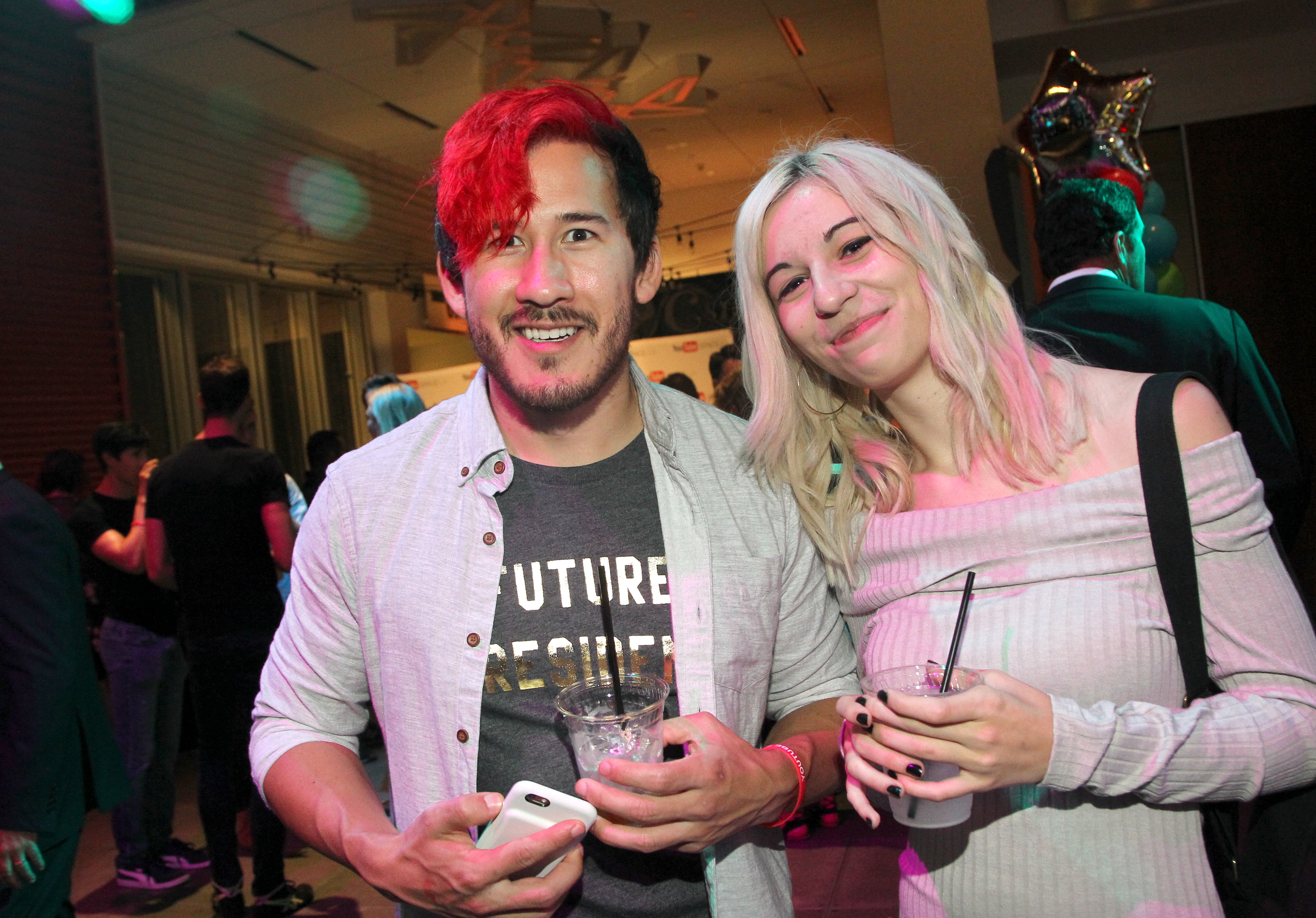 Official Streamy Awards Nominee Reception At YouTube Space LA
