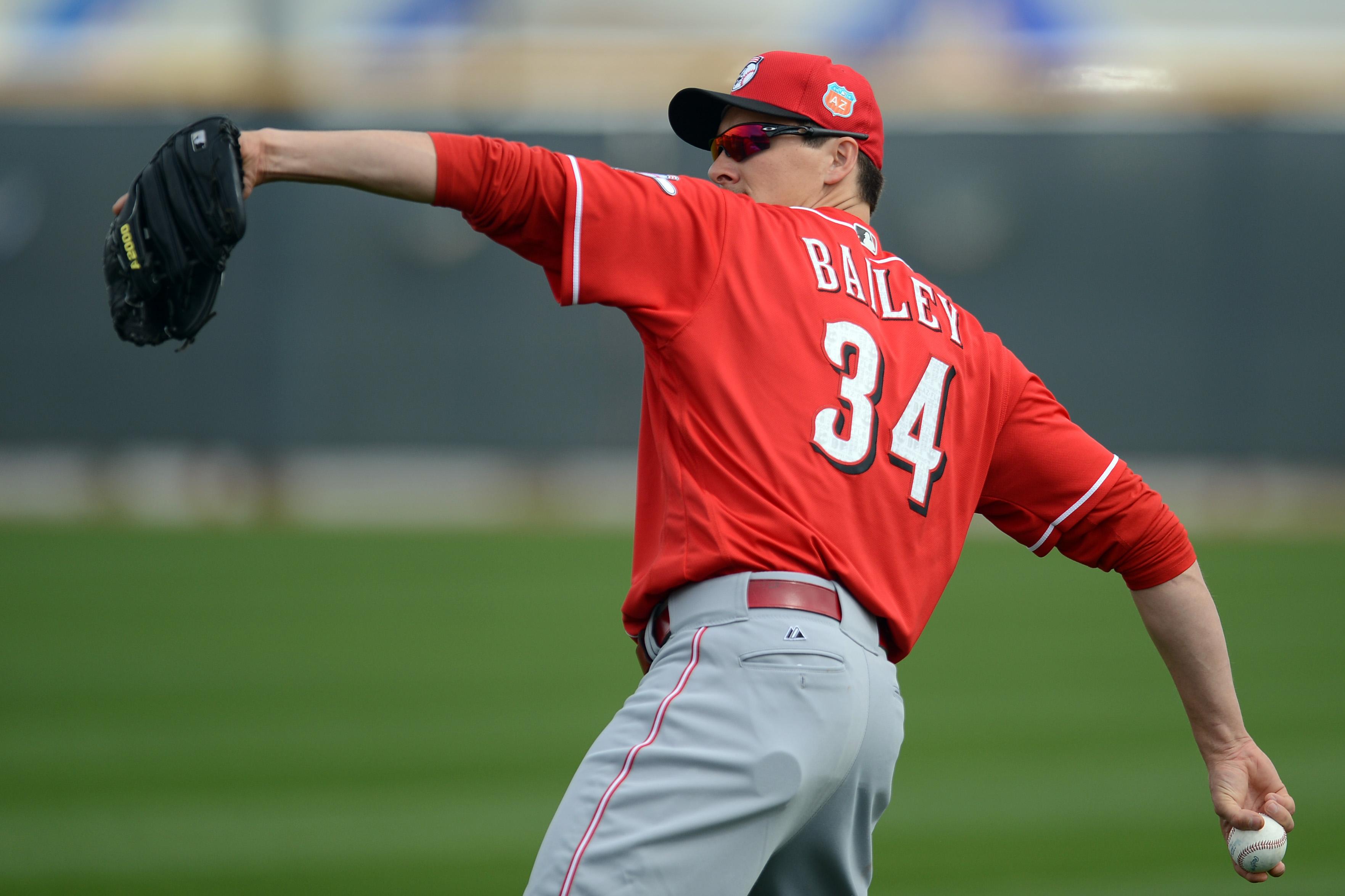 MLB: Cincinnati Reds-Workouts