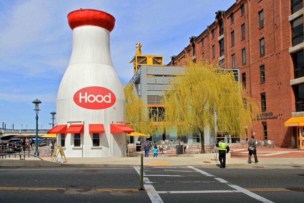 Hood Milk Bottle at the Boston Children's Museum