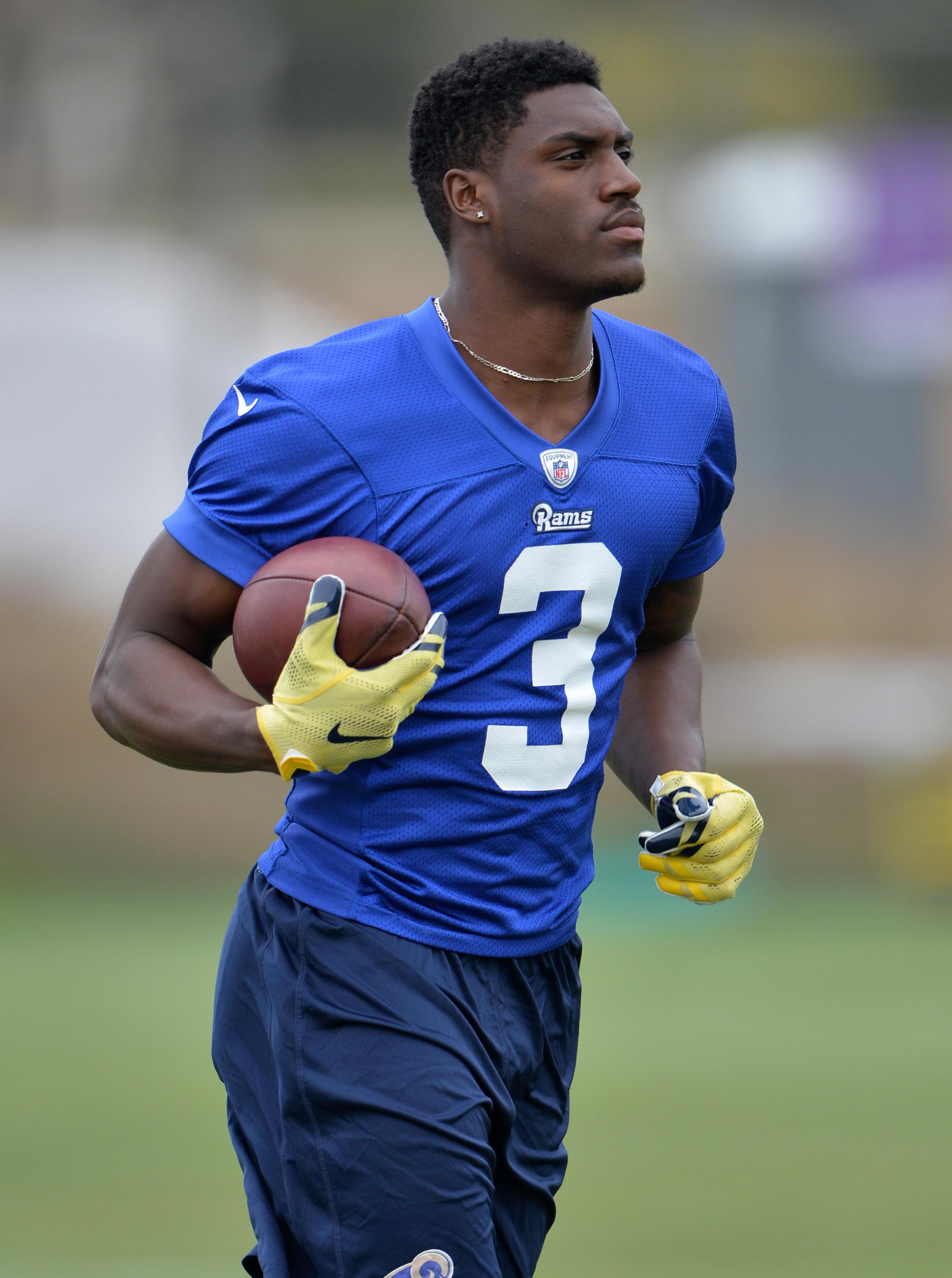 Los Angeles Rams WR Marquez North
