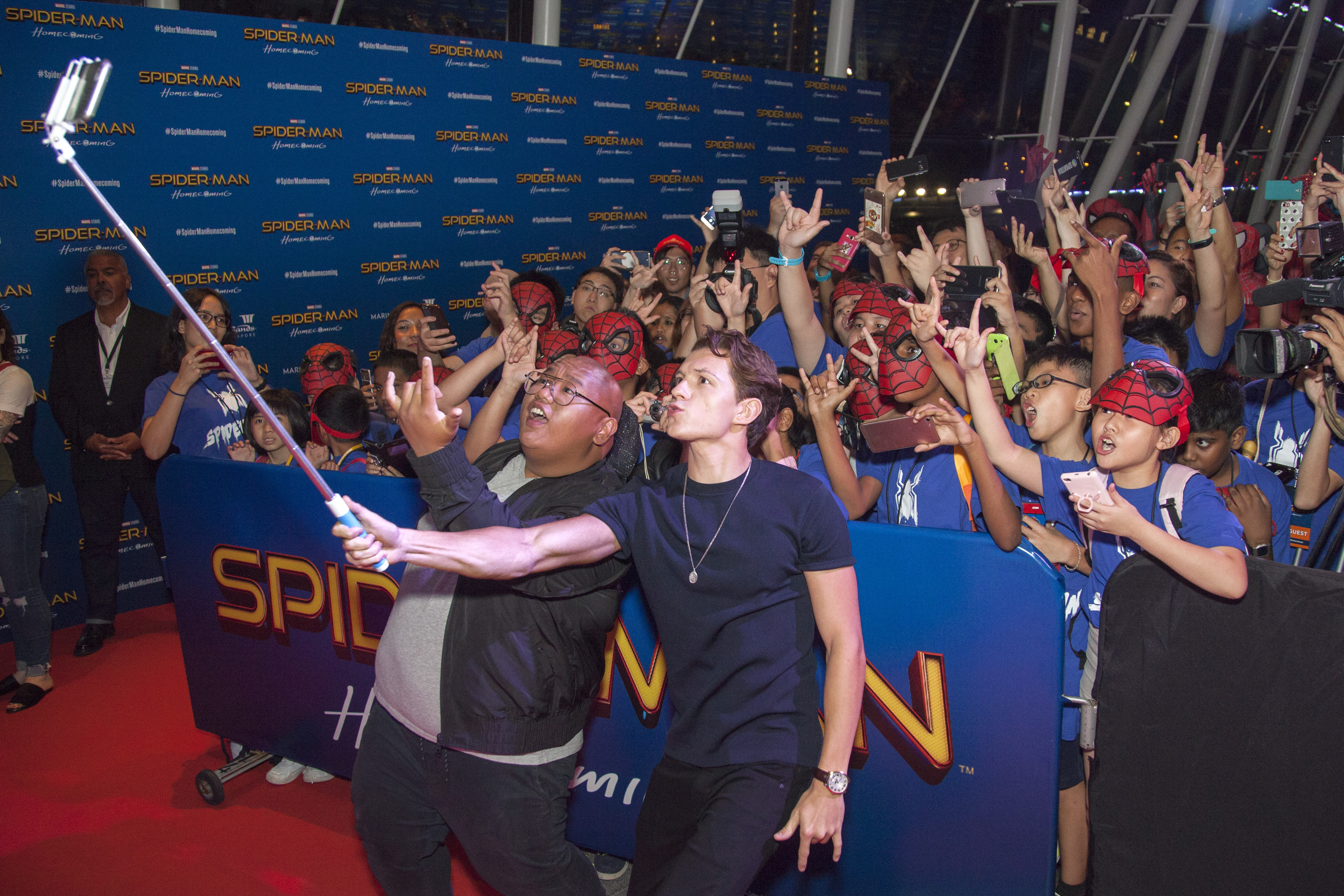 'Spider-Man: Homecoming' Red Carpet Fan Event
