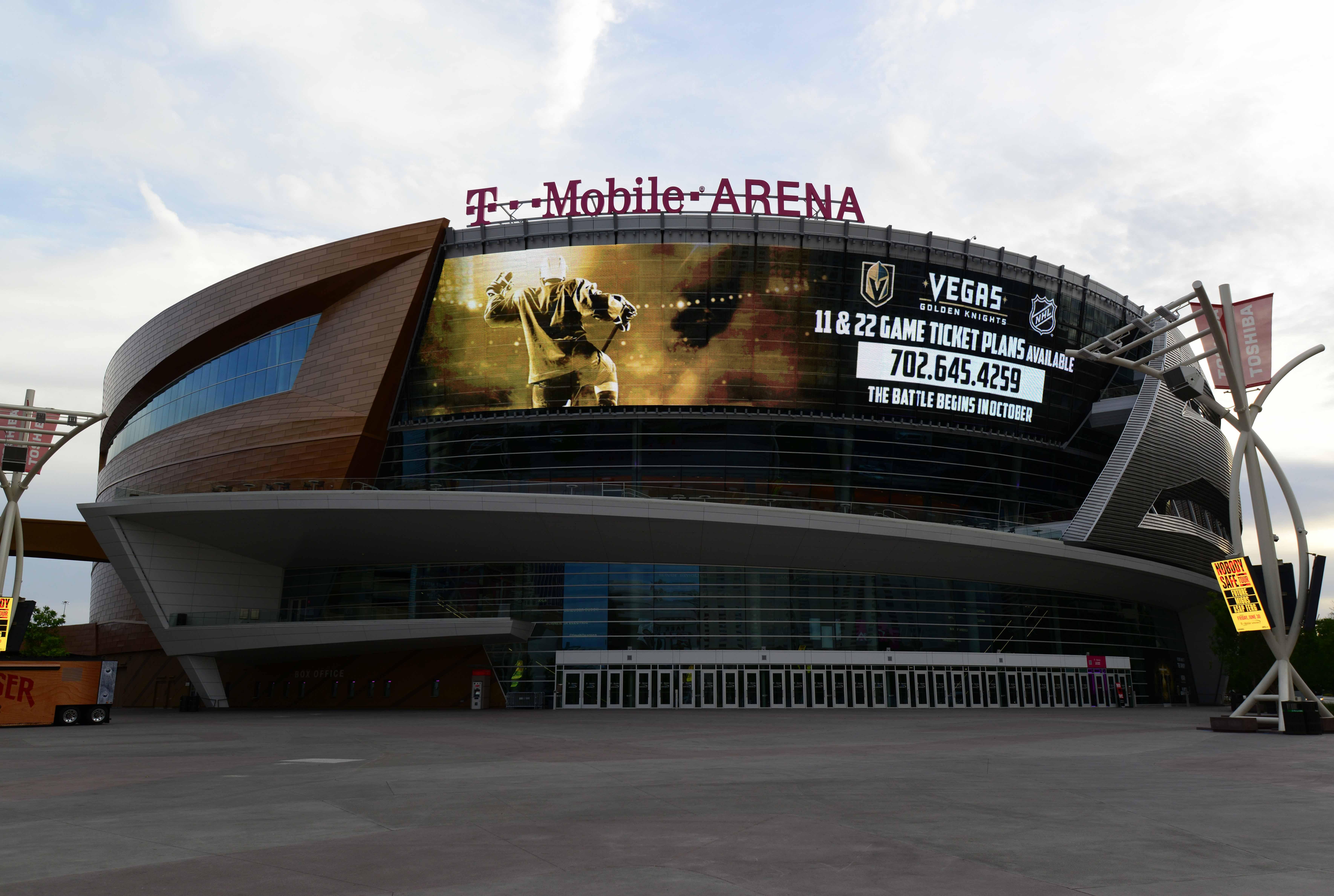 NHL: T-Mobile Arena Views