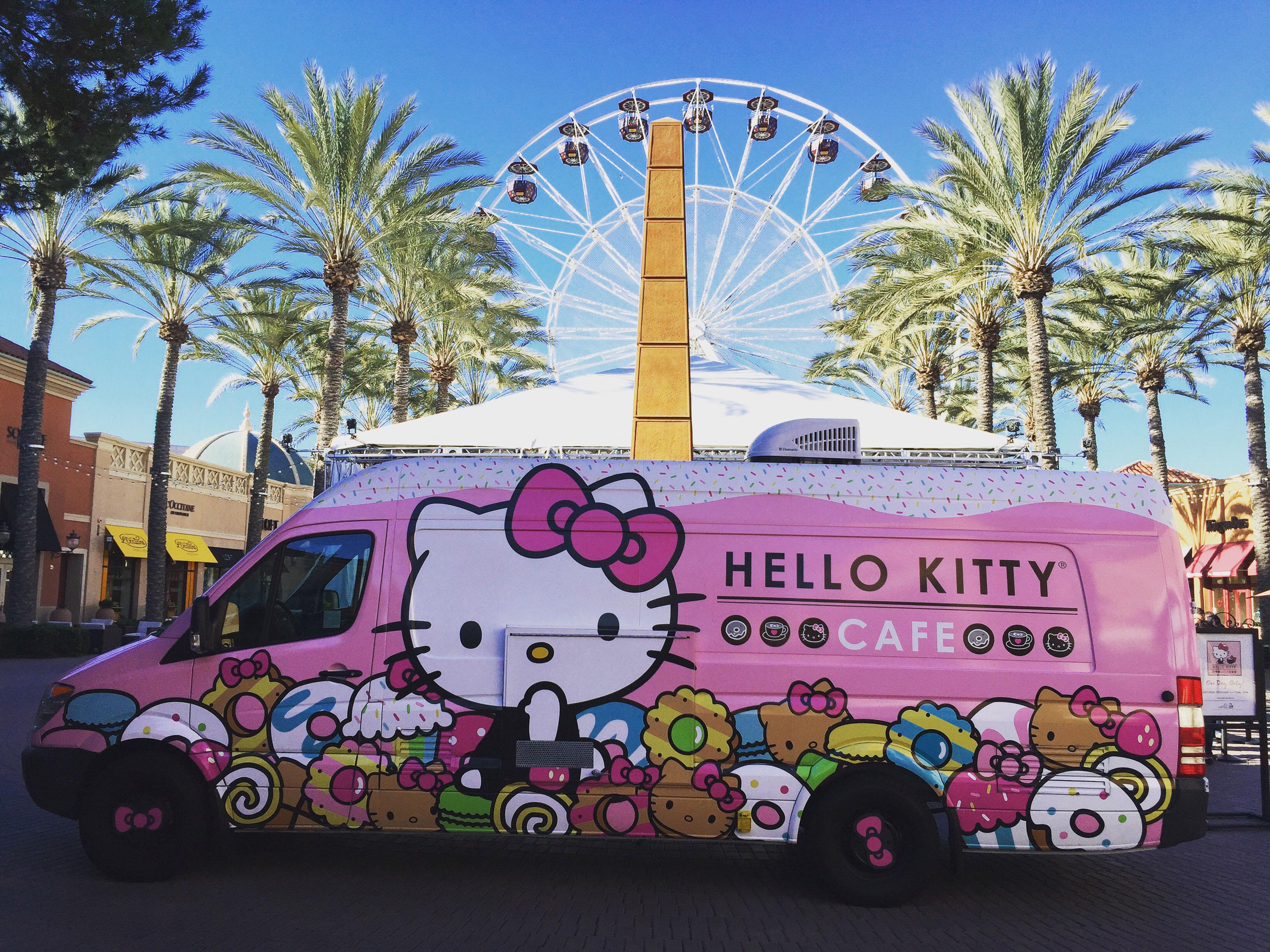 Hello Kitty Cafe Truck San Diego