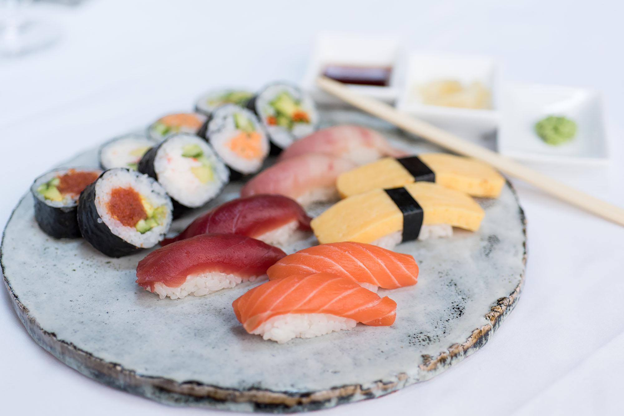 Sushi at Chaya