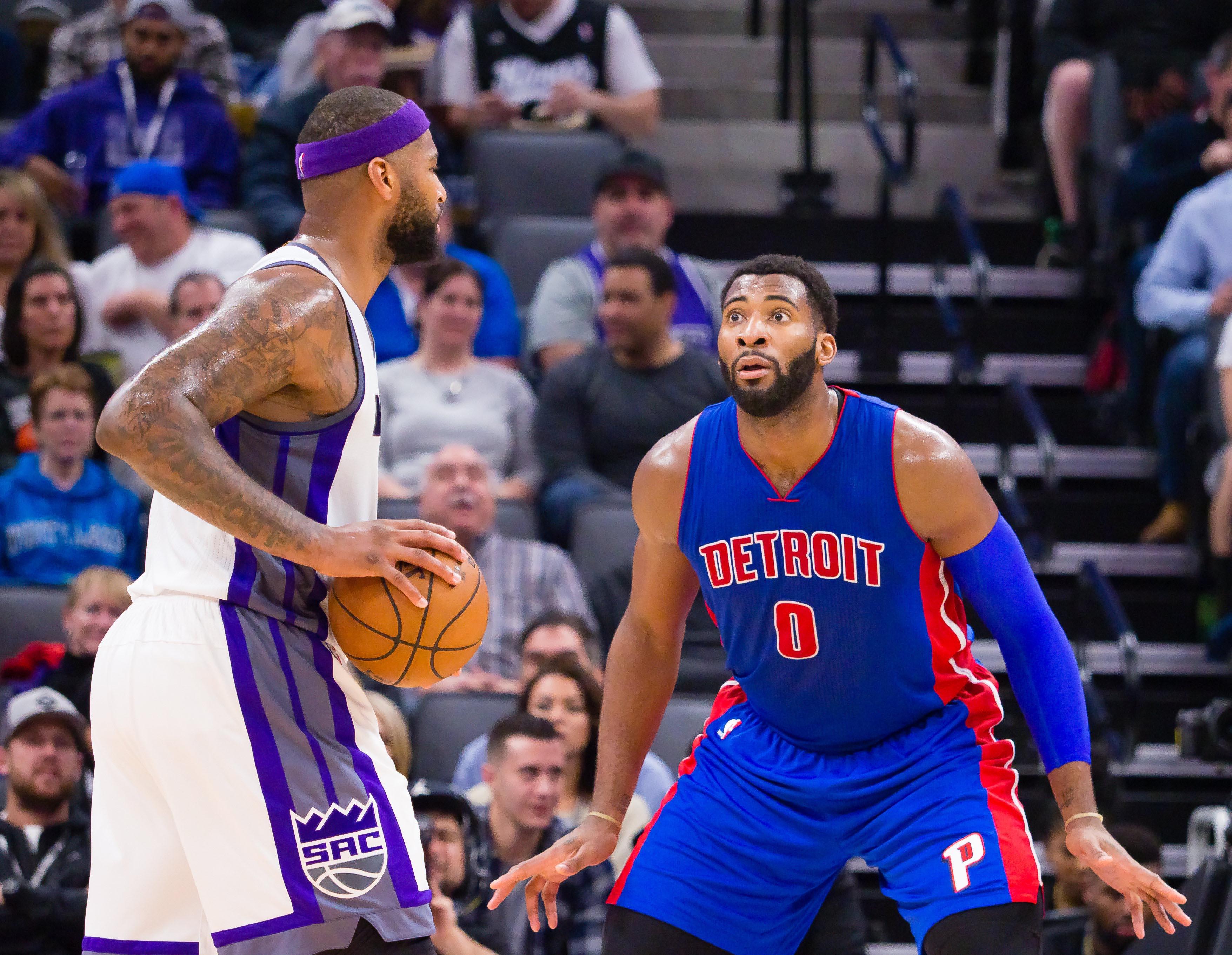 NBA: Detroit Pistons at Sacramento Kings