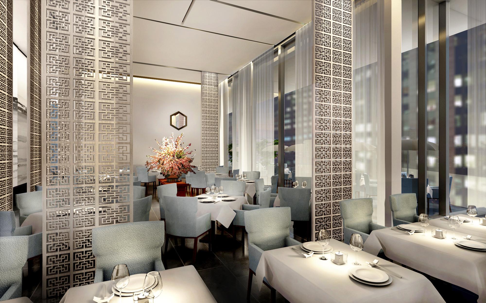 Da Dong's third floor dining room