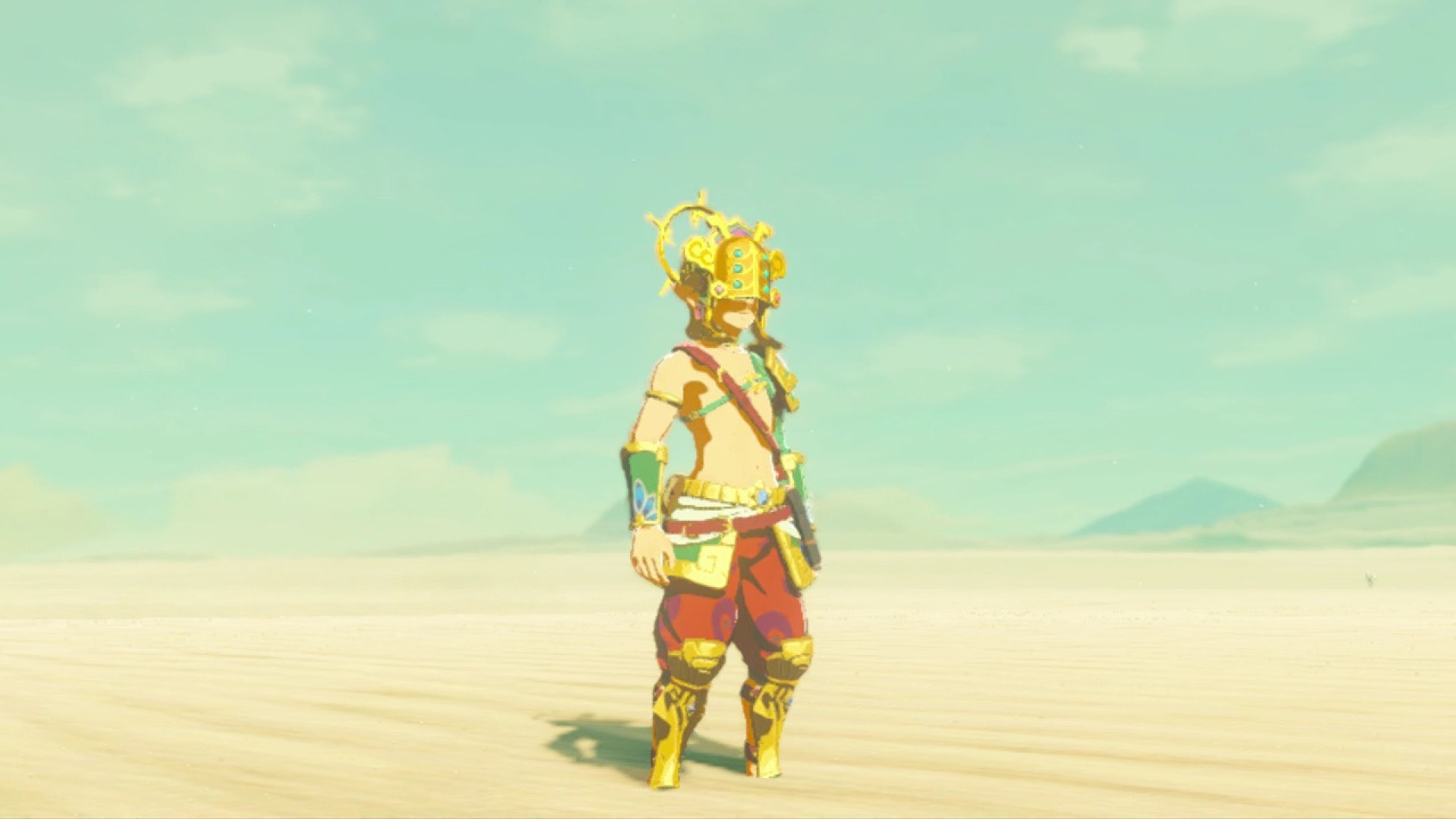 Zelda breath of the wild guide how to get the thunder helm
