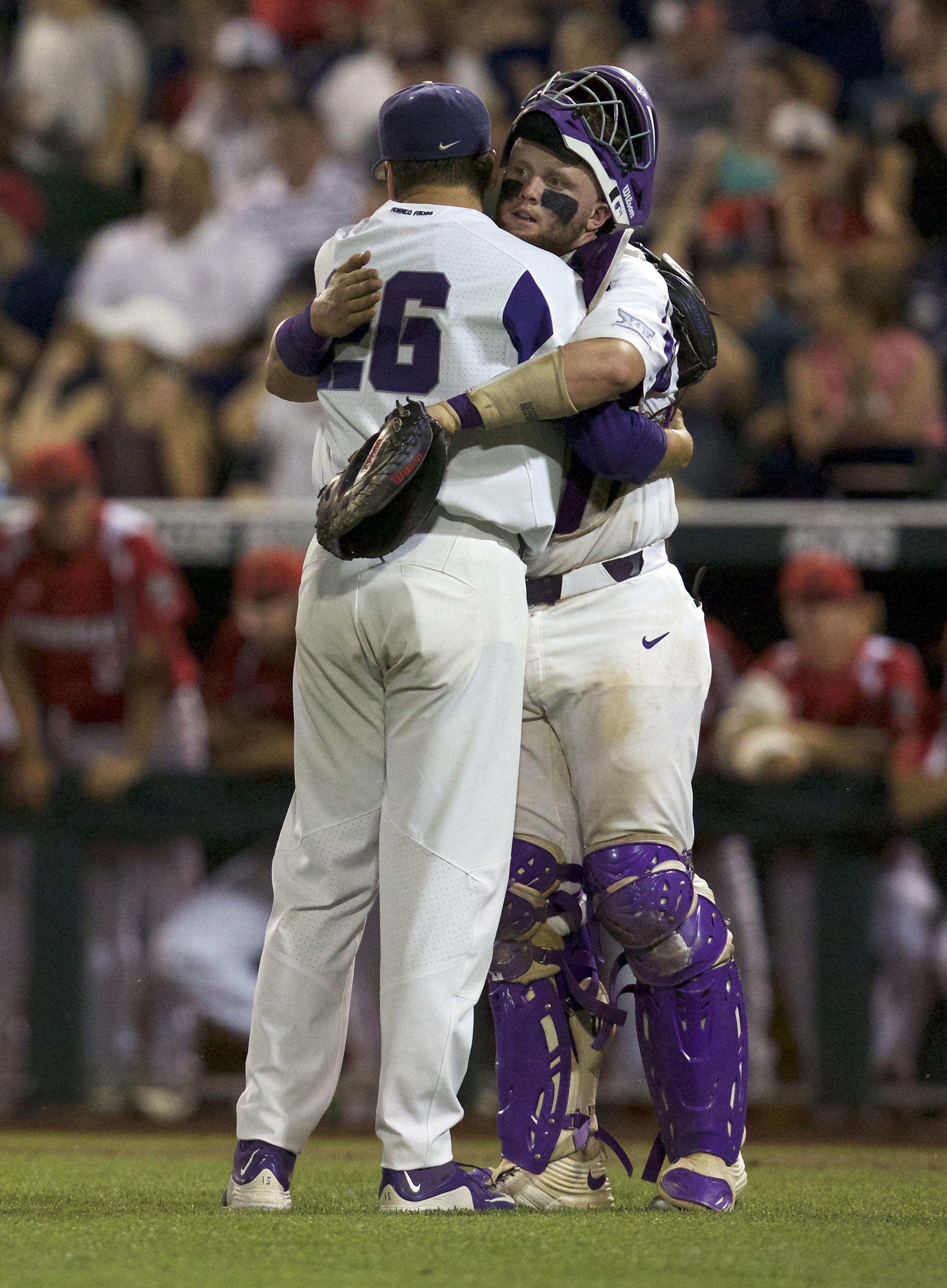 NCAA Baseball: College World Series-Louisville vs TCU