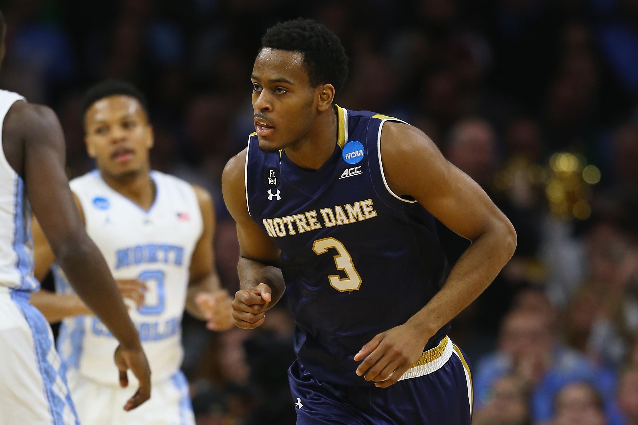 NCAA Basketball Tournament - East Regional - Notre Dame v North Carolina
