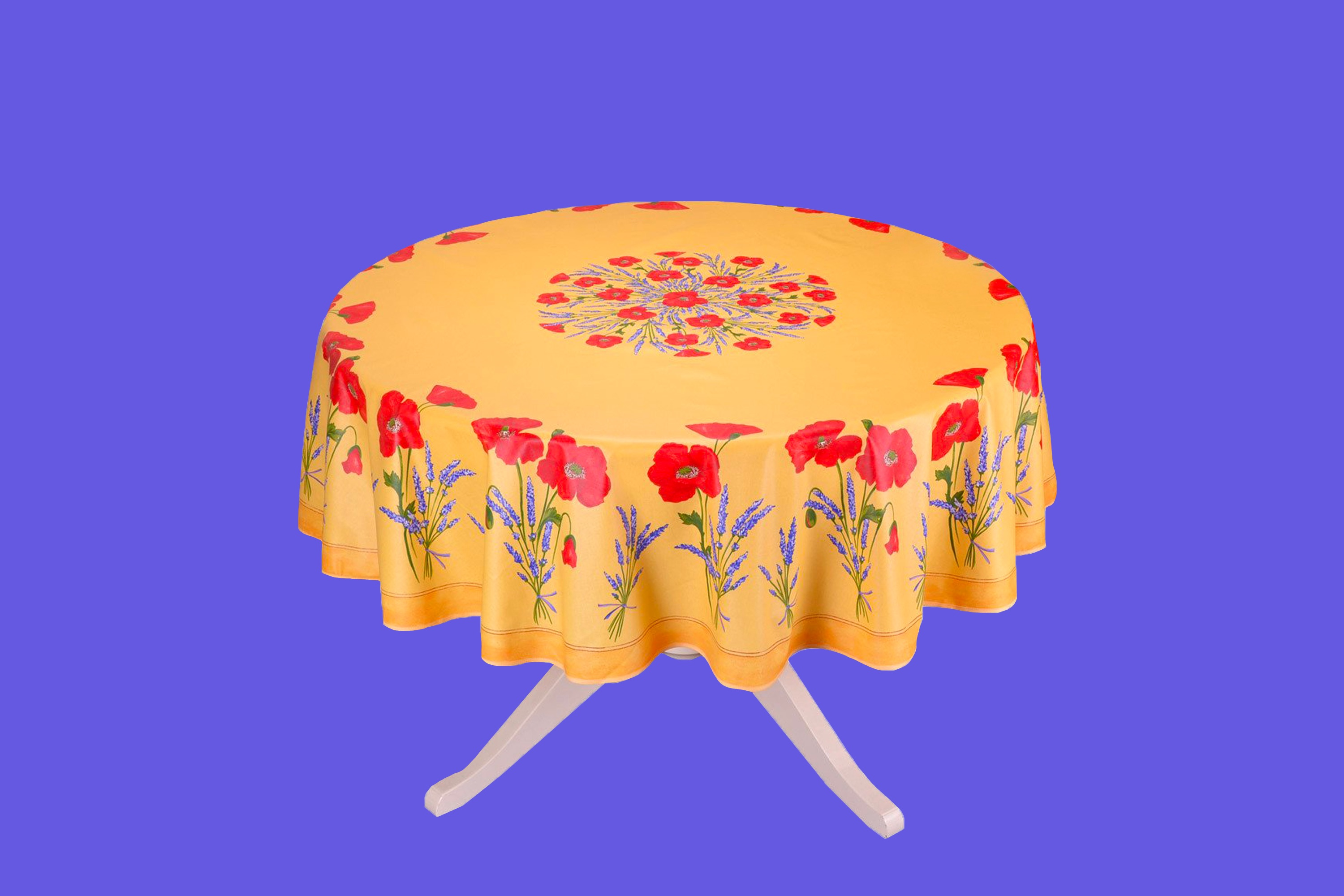 Why the only tablecloth I use is plastic
