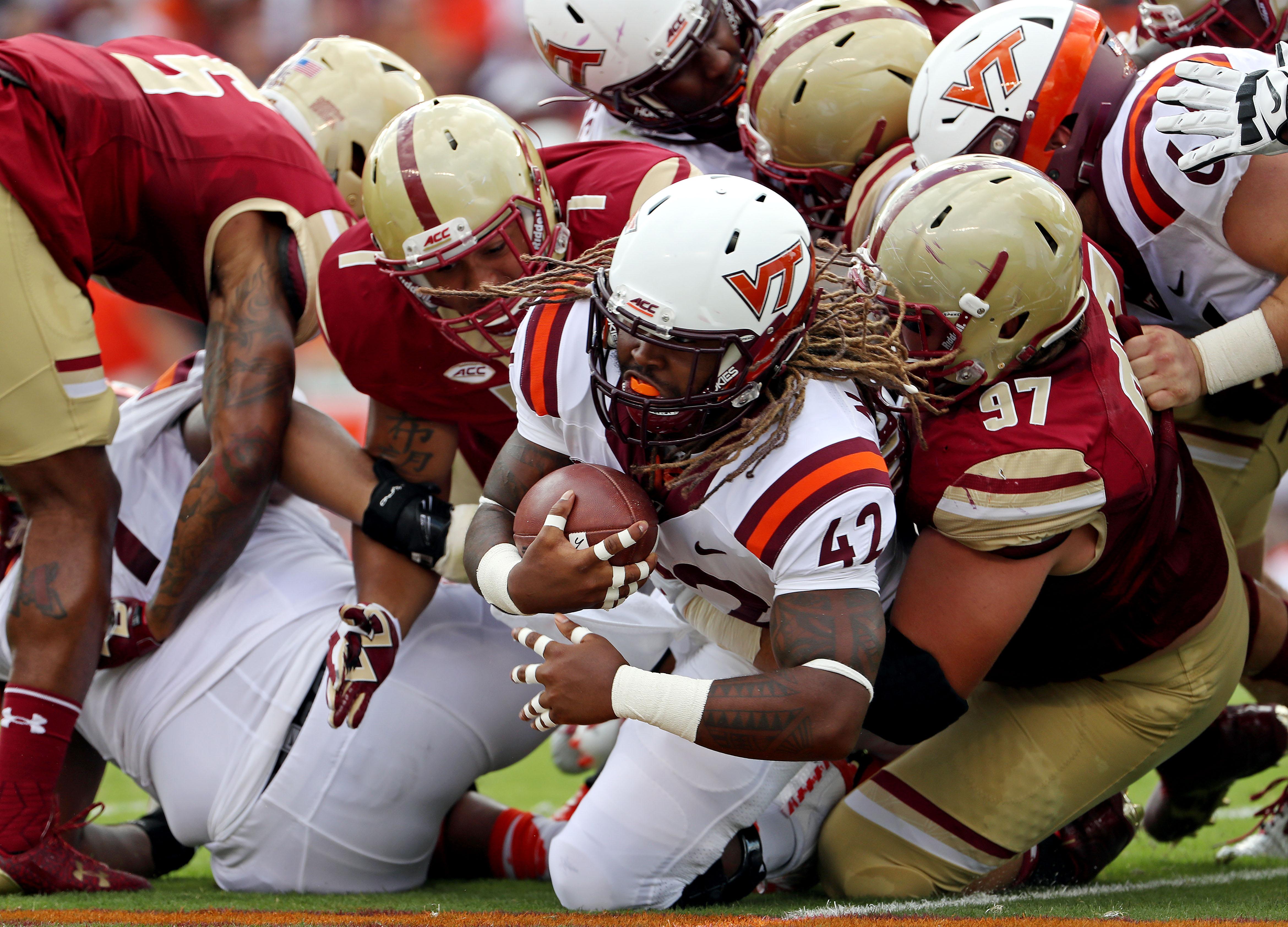 NCAA Football: Boston College at Virginia Tech