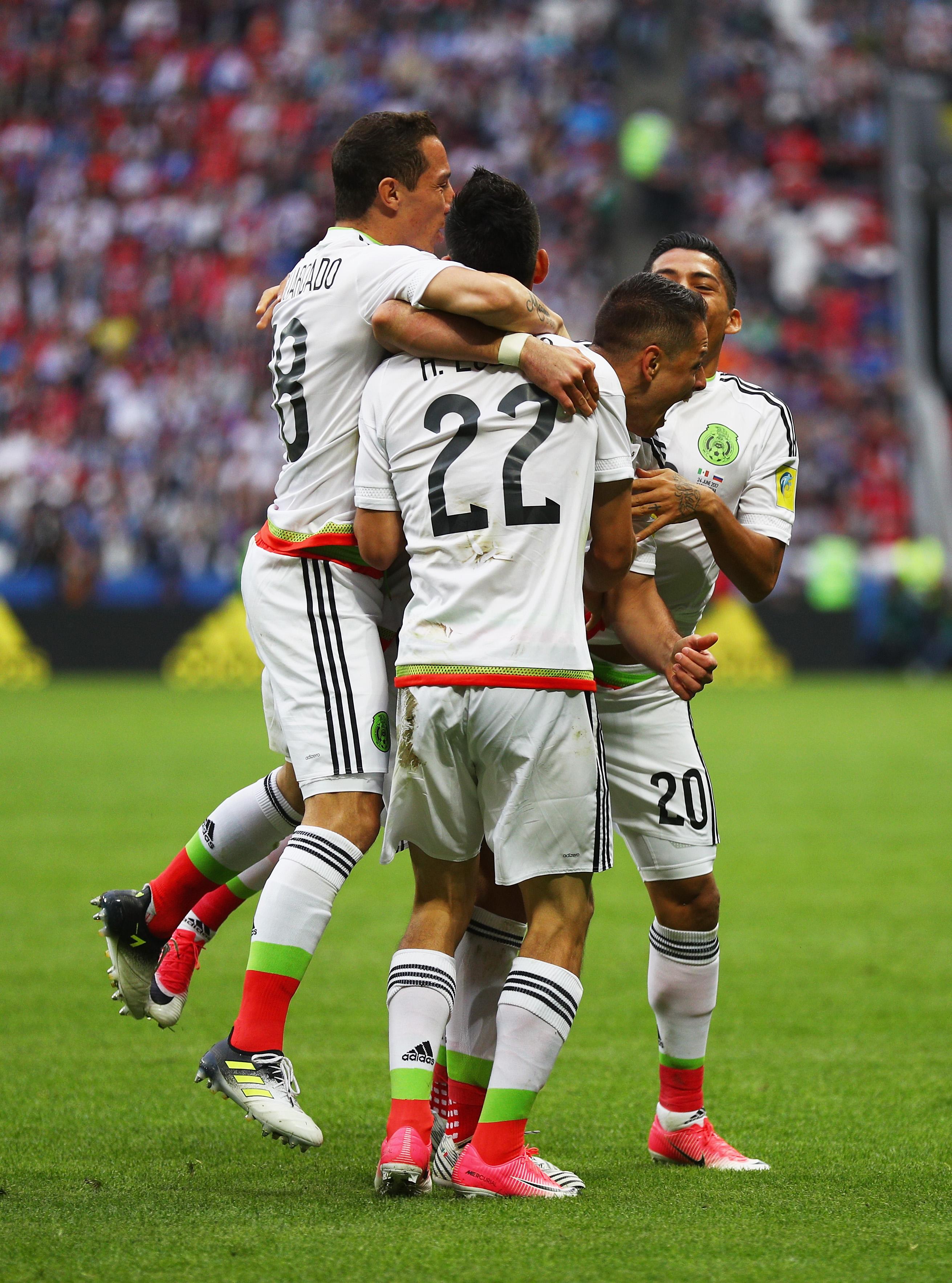 Mexico vs. Russia: Final score 2-1, El Tri knocks hosts out of Confederations Cup
