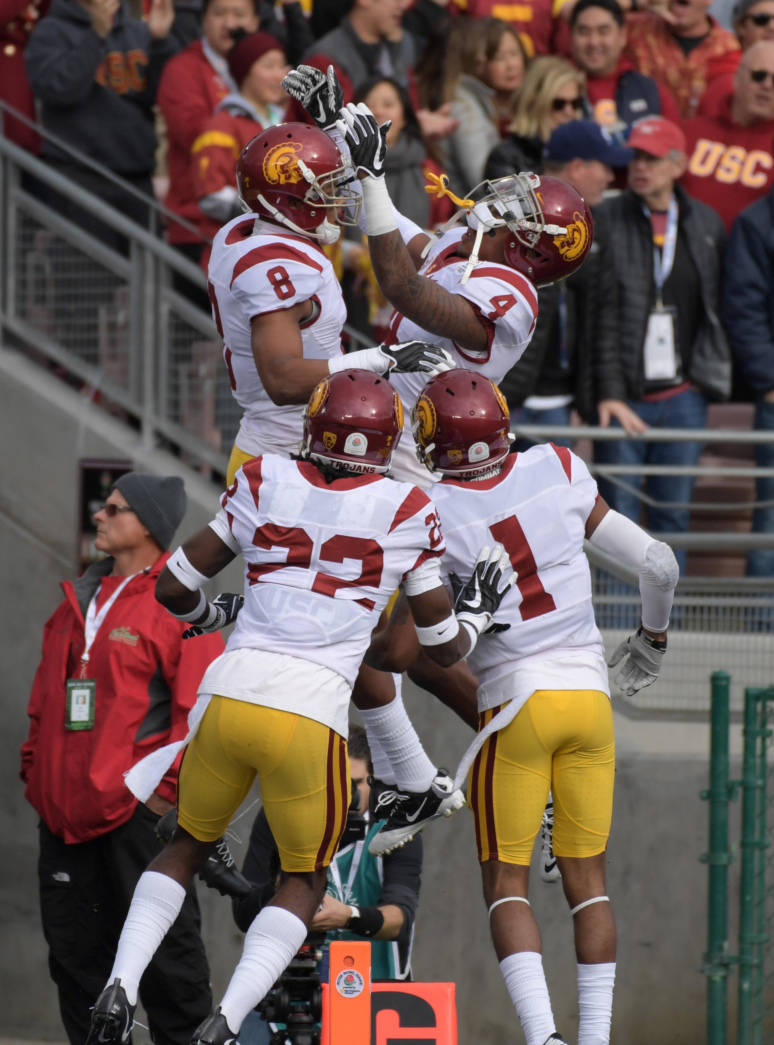 NCAA Football: Rose Bowl Game-Penn State vs Southern California