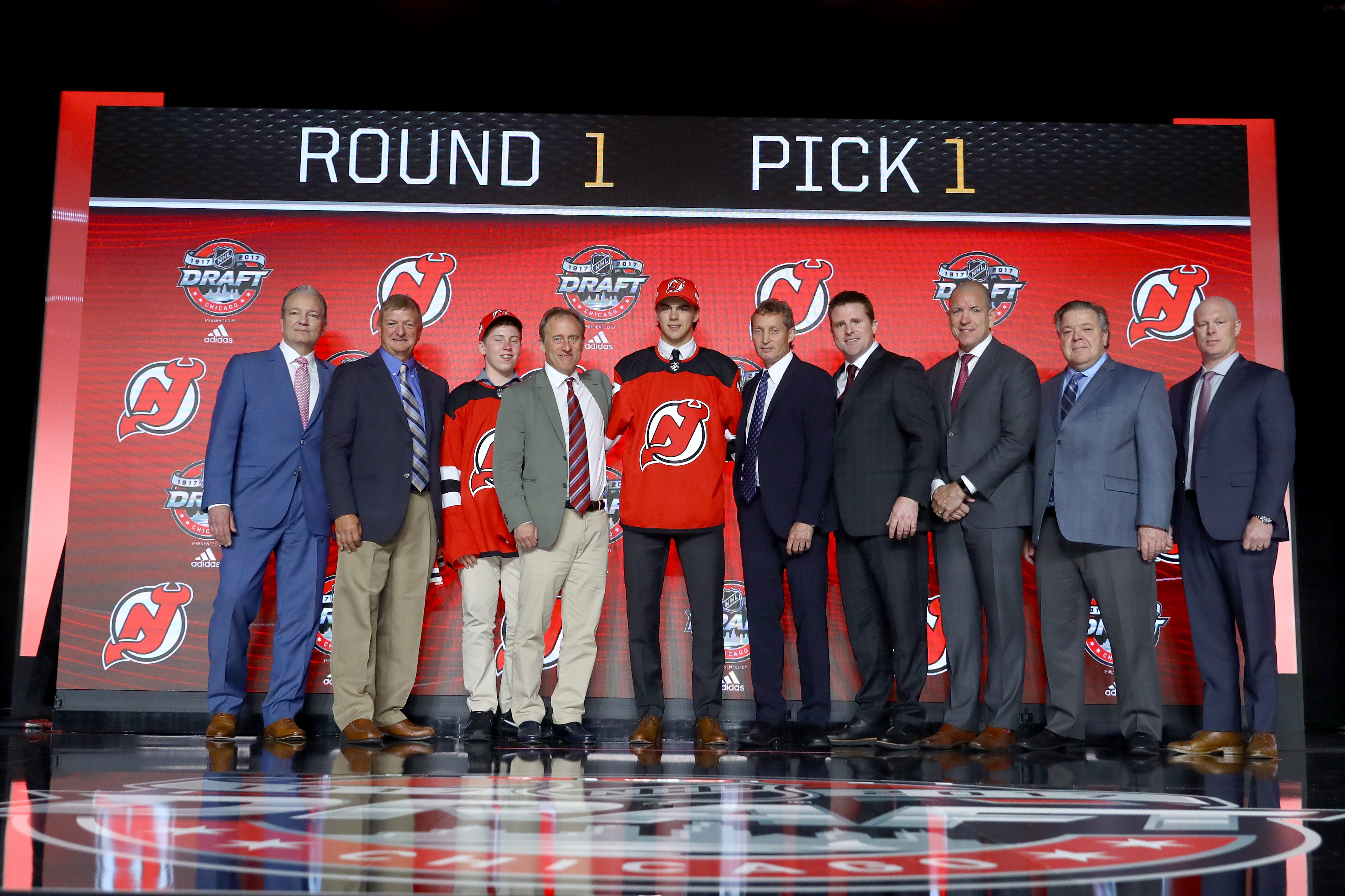 official photos a94ee 015ac New Jersey Devils Selected a Very European 2017 NHL Draft ...