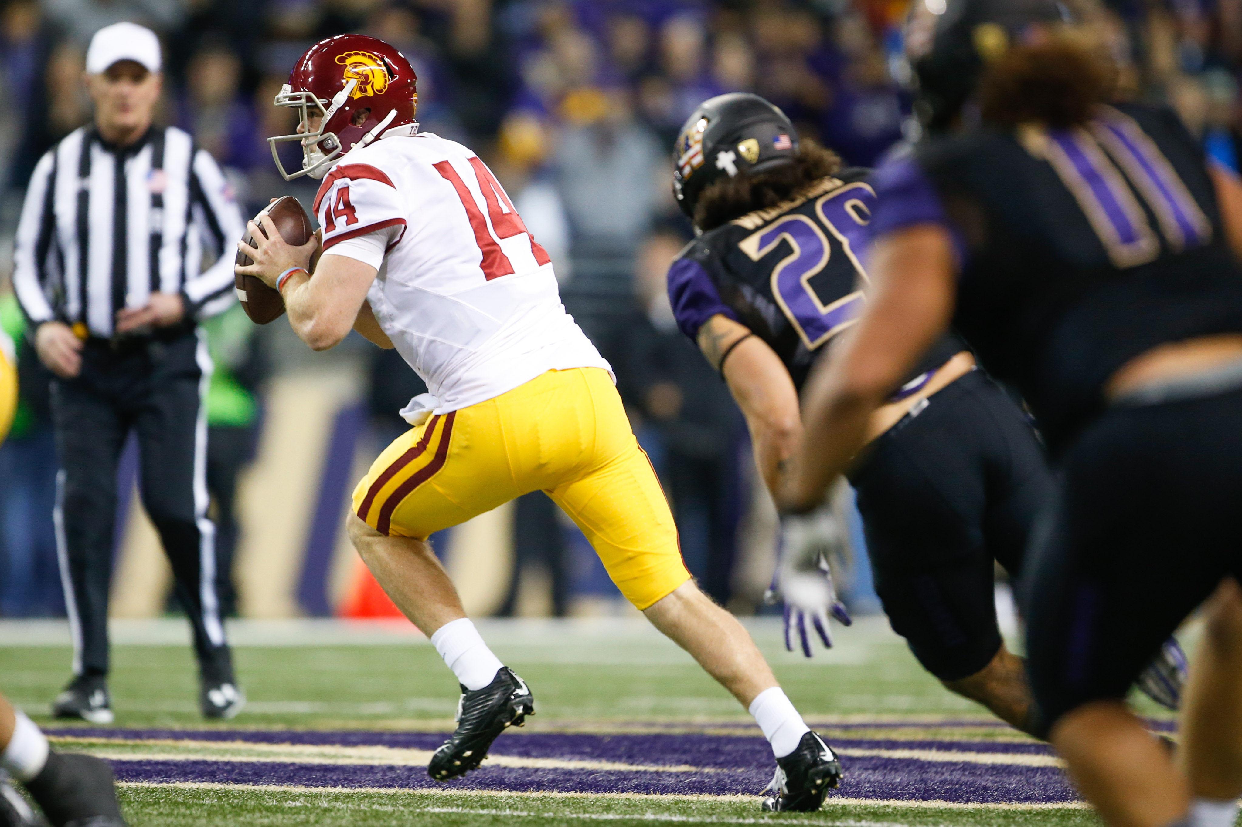 NCAA Football: Southern California at Washington