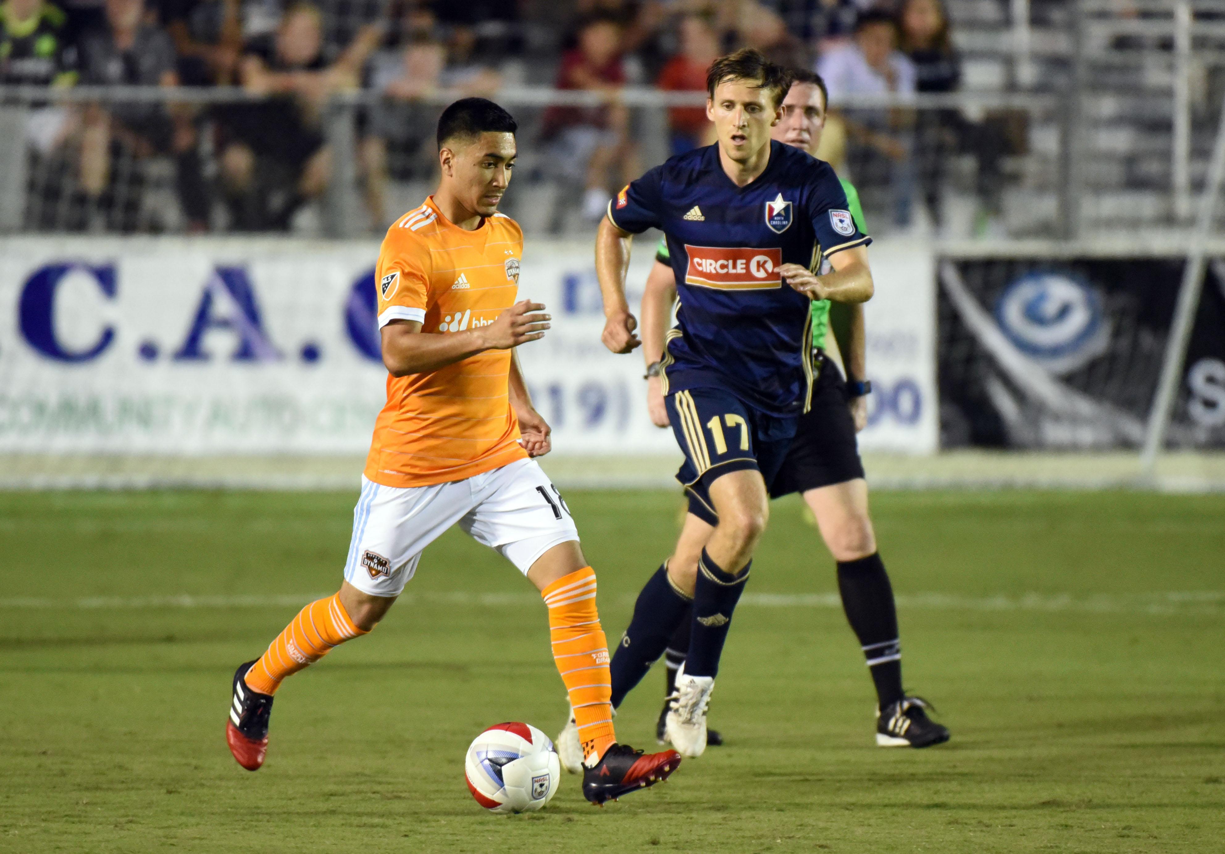 MLS: U.S. Open Cup-Houston Dynamo at North Carolina FC