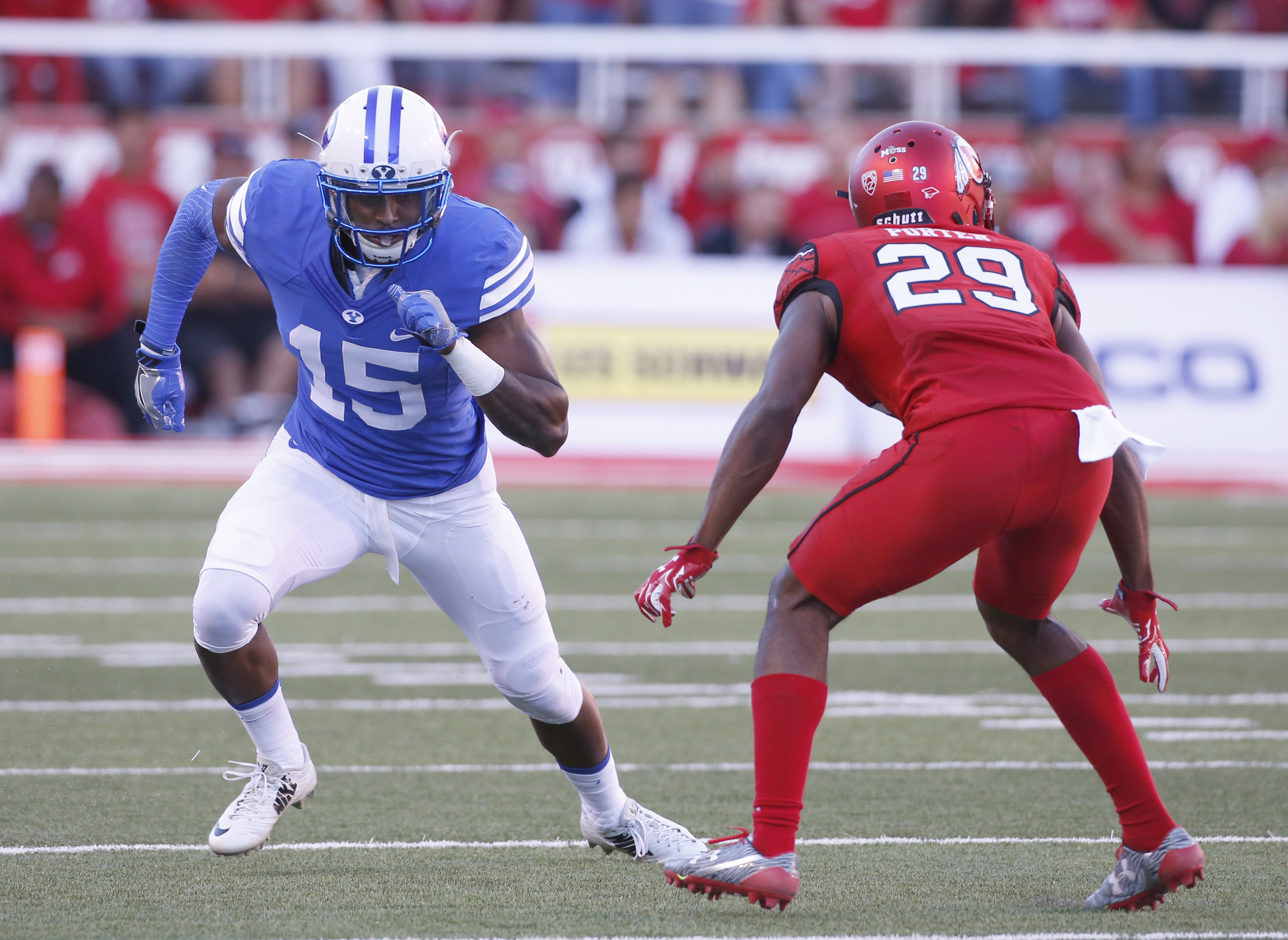 At Utah, not even Pepsi can wear BYU blue