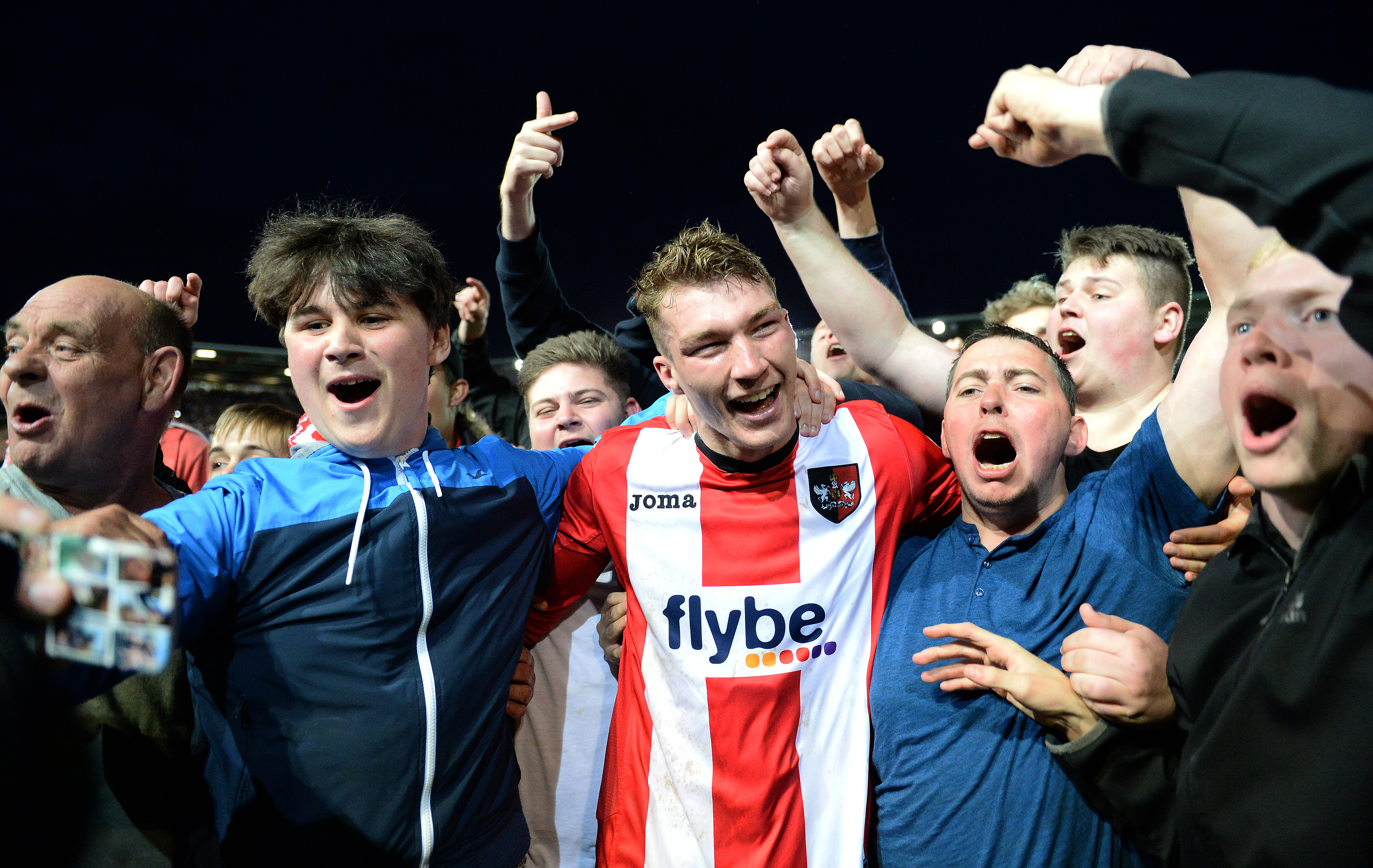 Exeter City v Carlisle United - Sky Bet League Two Play off Semi Final: Second Leg