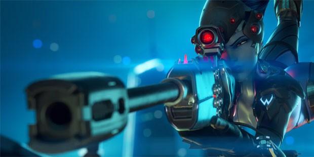 Hero makes motion-sensing baguette controller for Overwatch's Widowmaker