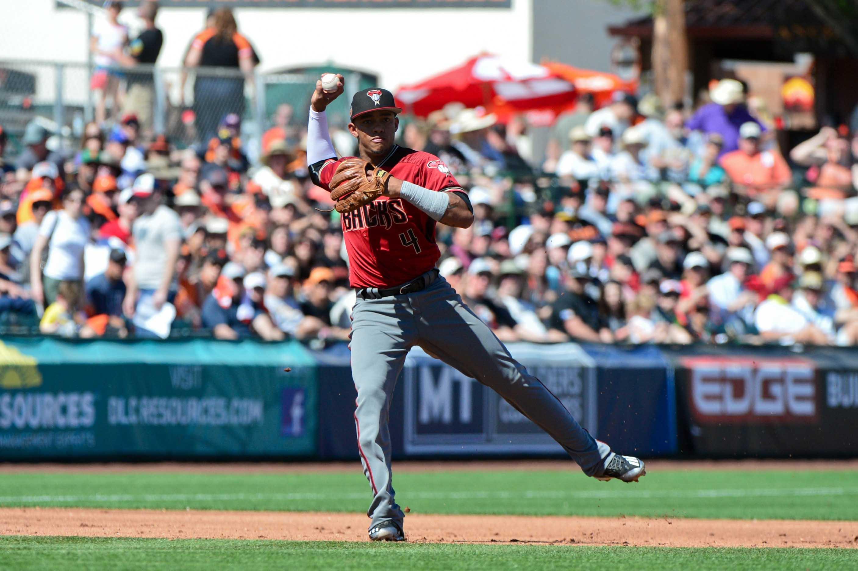 MLB: Spring Training-Arizona Diamondbacks at San Francisco Giants