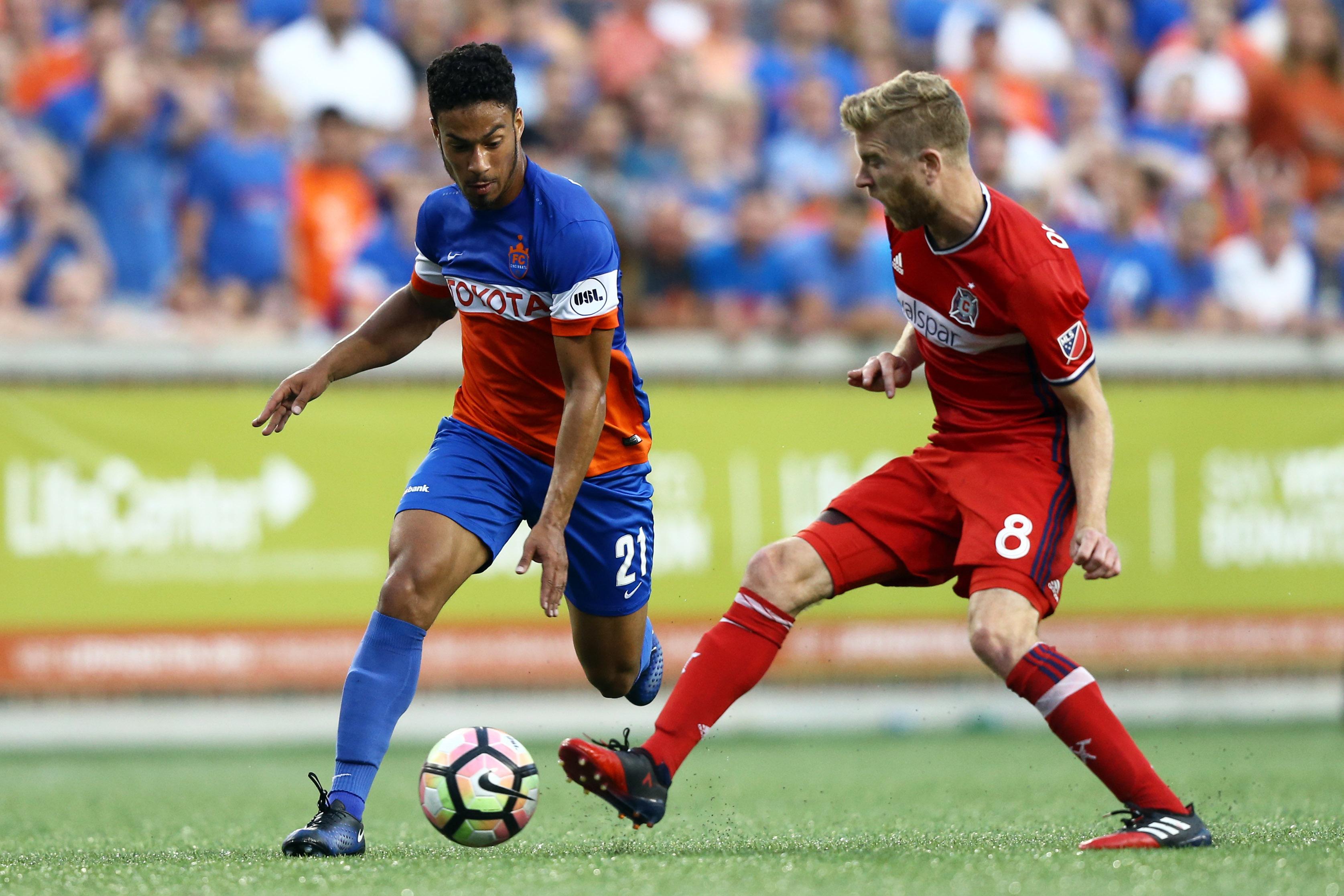 MLS: U.S. Open Cup-Chicago Fire at FC Cincinnati
