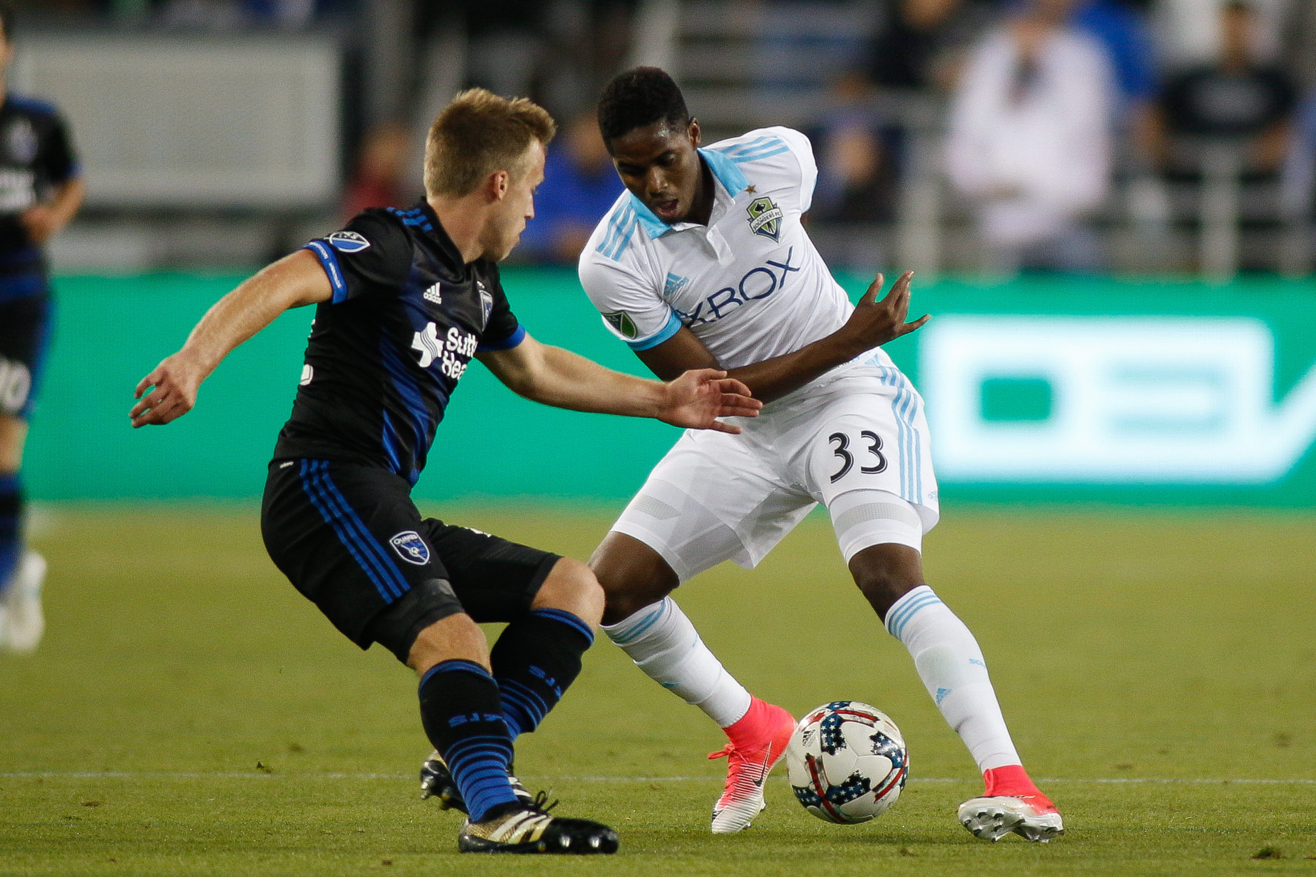 MLS: U.S. Open Cup-Seattle Sounders FC at San Jose Earthquakes