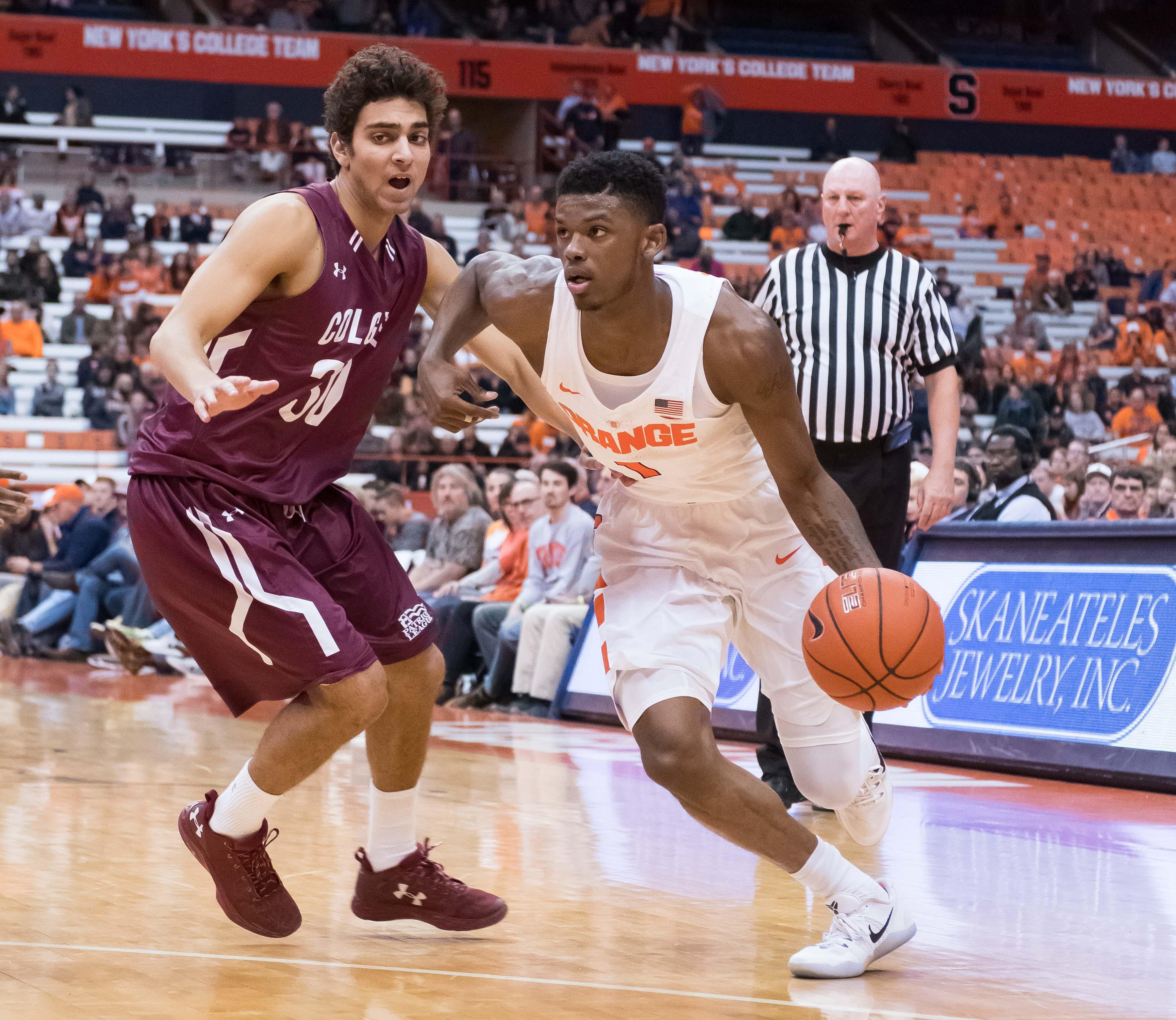 NCAA Basketball: Colgate at Syracuse
